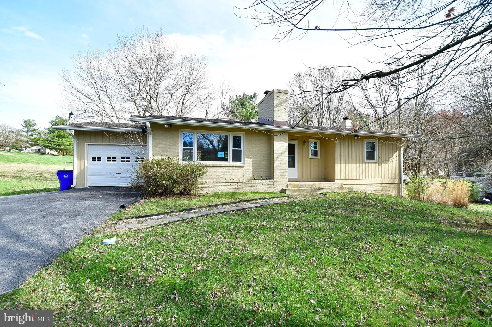 Lovely 3 bedroom 3 full bath rancher located on large lot in sought after Mt. Airy.  Home boasts sta