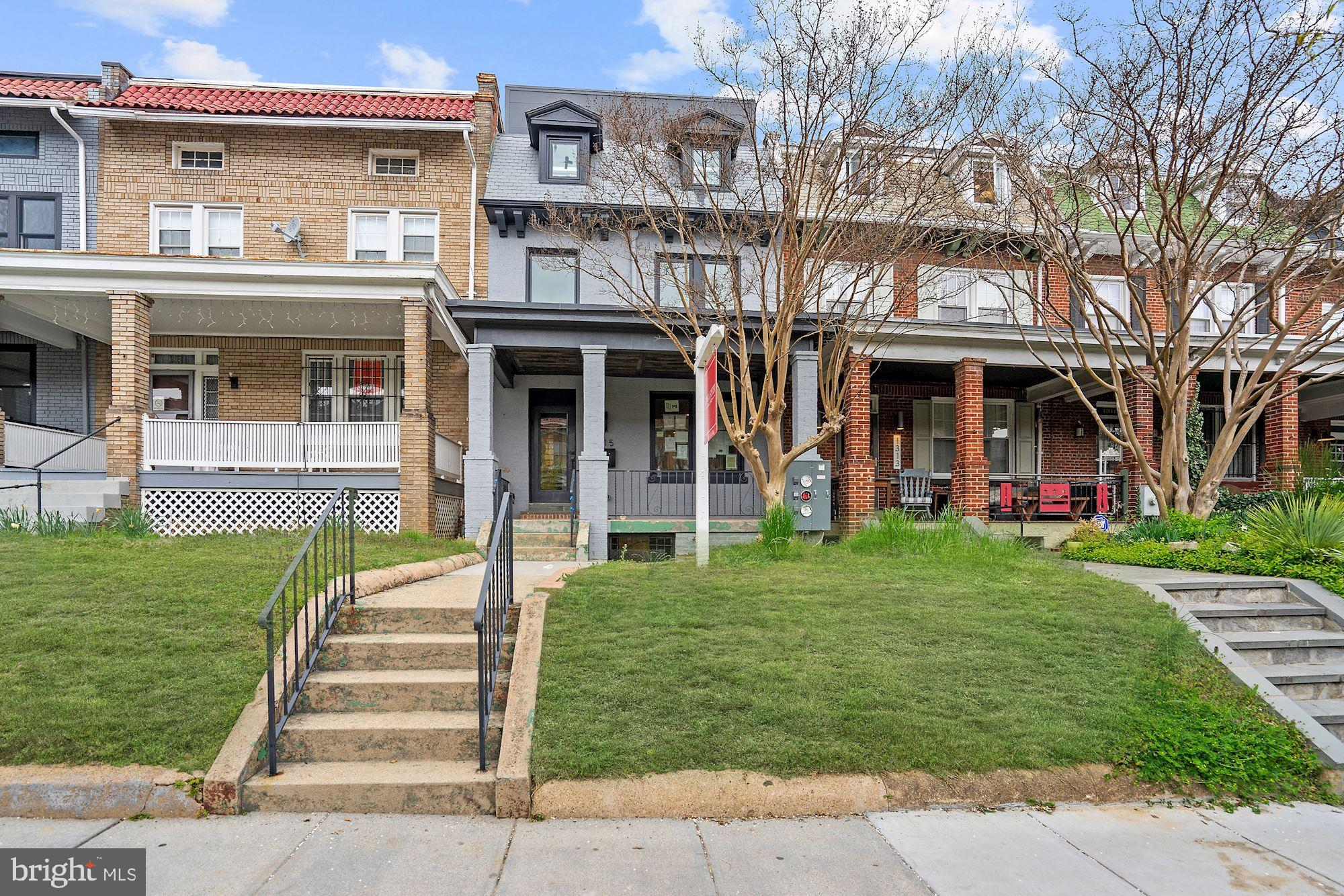 Wow,  the Best Buy in Columbia Heights! - no doubt!!!  Wonderful 1650 sq ft 3br/2.5ba duplex with an