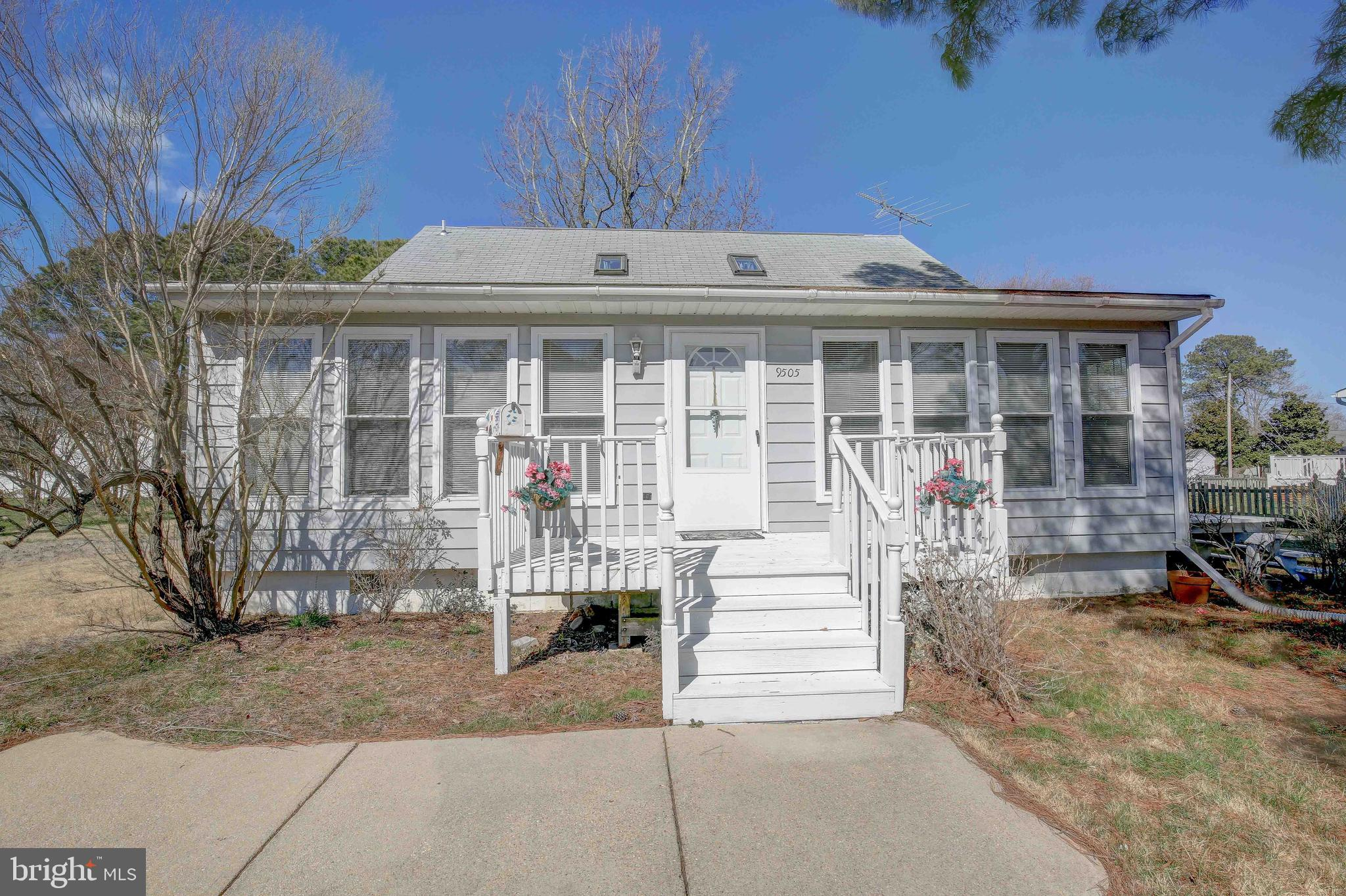 Cute Cape Cod Home revamped , outside, inside and fitted with a new Roof, is back on the Market.  Th