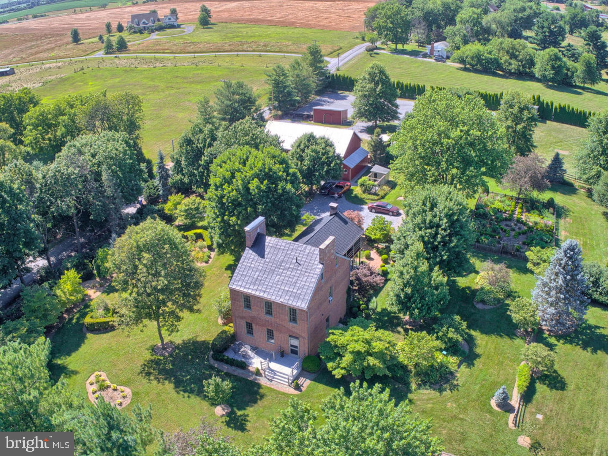 """THIS STUNNING FEDERAL-STYLE BRICK HOME KNOWN AS THE """"THOMAS WEST HOUSE"""" (FREDERICK COUNTY LANDMARK #"""