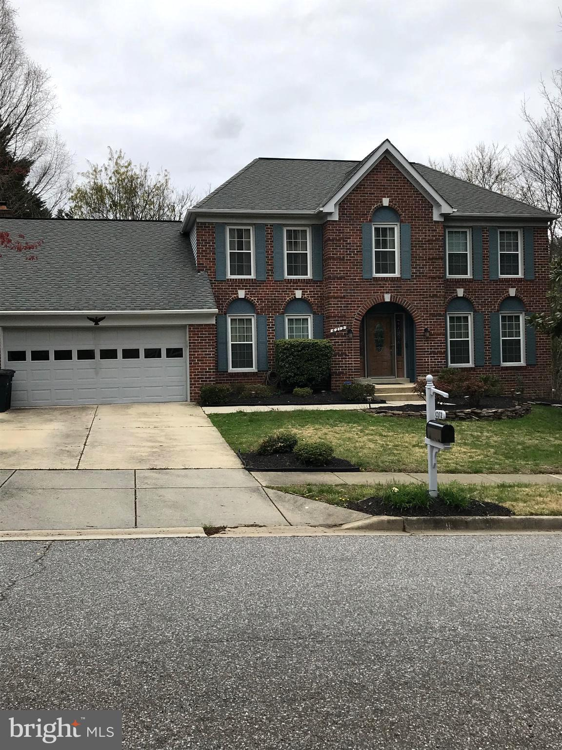 Immaculate well maintained home.  Excellent location, convenient to DC, Annapolis, NASA and Ft Meade
