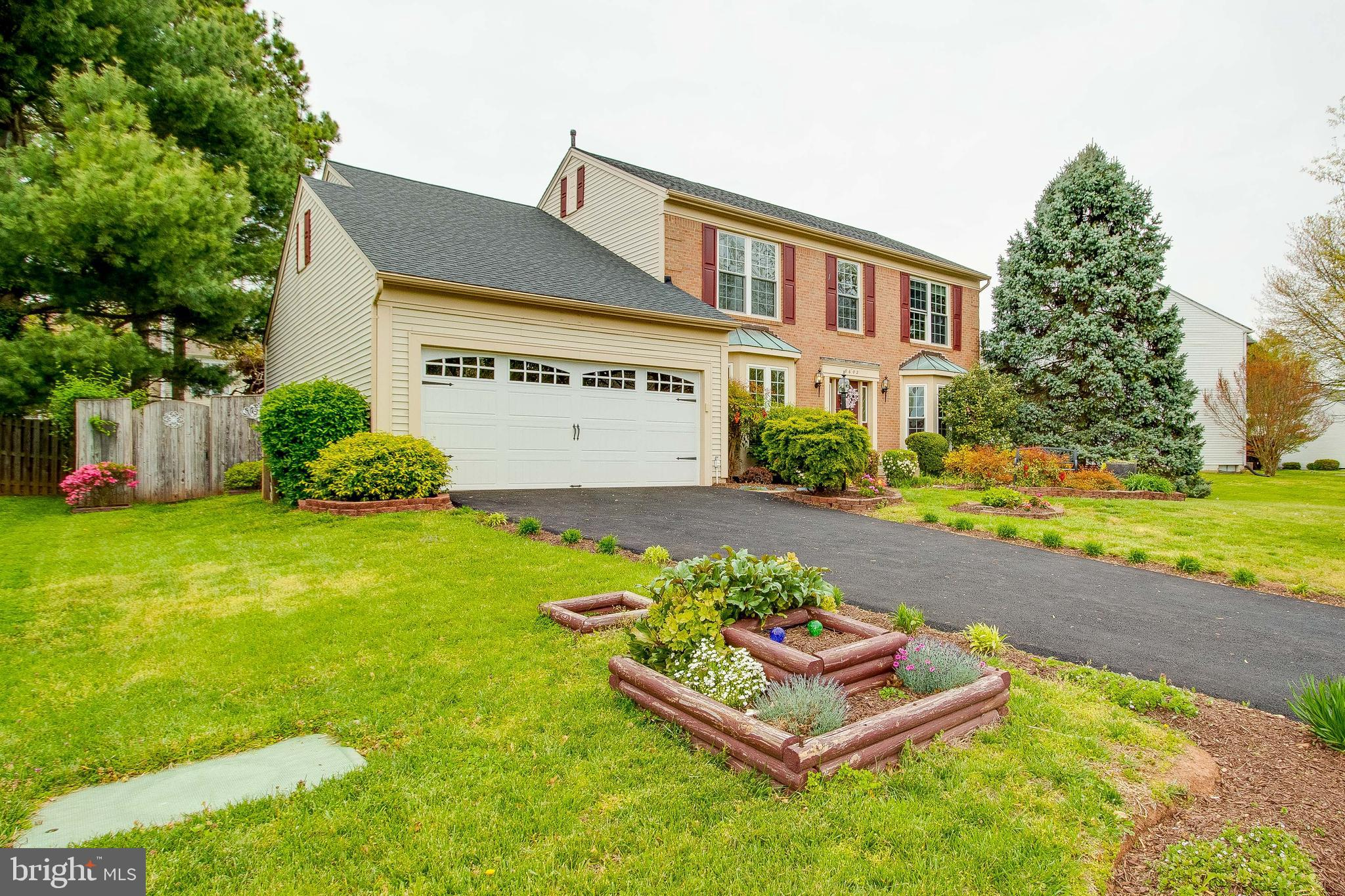 Beautiful home in the heart of Old Town Manassas! NO HOA** Over  3,500 sqft of living area spread out on 3 levels**Traditional brick front, fenced in back yard, trex deck off the breakfast room**Newer roof, Windows, HVAC & H2O**Updated kitchen, ceramic tile flooring, stainless steel appliances, granite counter tops, light fixtures**Wood burning fireplace @ family room**office/library off living room** Large master bedroom w/luxury master bath, and spacious secondary bedrooms***(jets on master tub as is) Fully finished basement with a den, full bathroom, hobby room and rec room**Convenient location to Old Town VRE, shopping, schools and commuter routes**Pride of ownership**Must see**