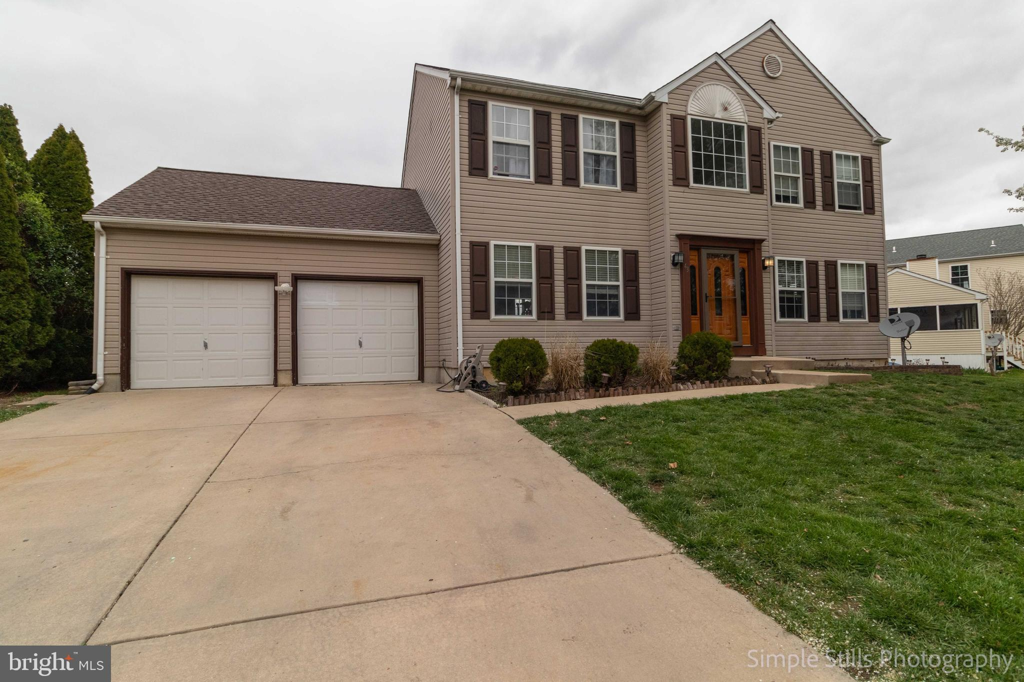 Welcome to this stunning 4 bedroom 2.5 bath colonial in Frenchtown Woods!  This home has been renova