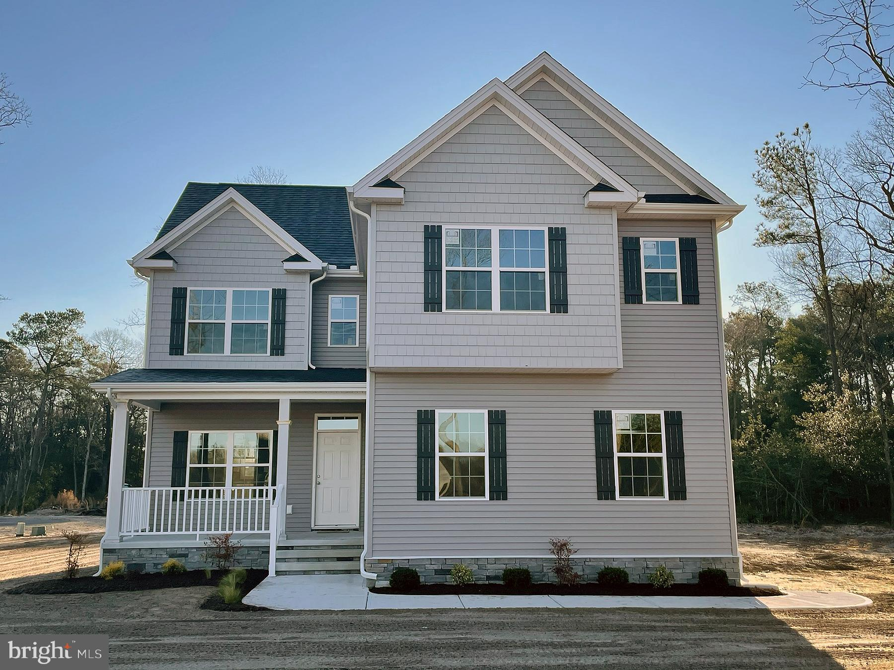 New Home - almost complete in the community of Layfield Woods, surrounded by gorgeous new custom hom