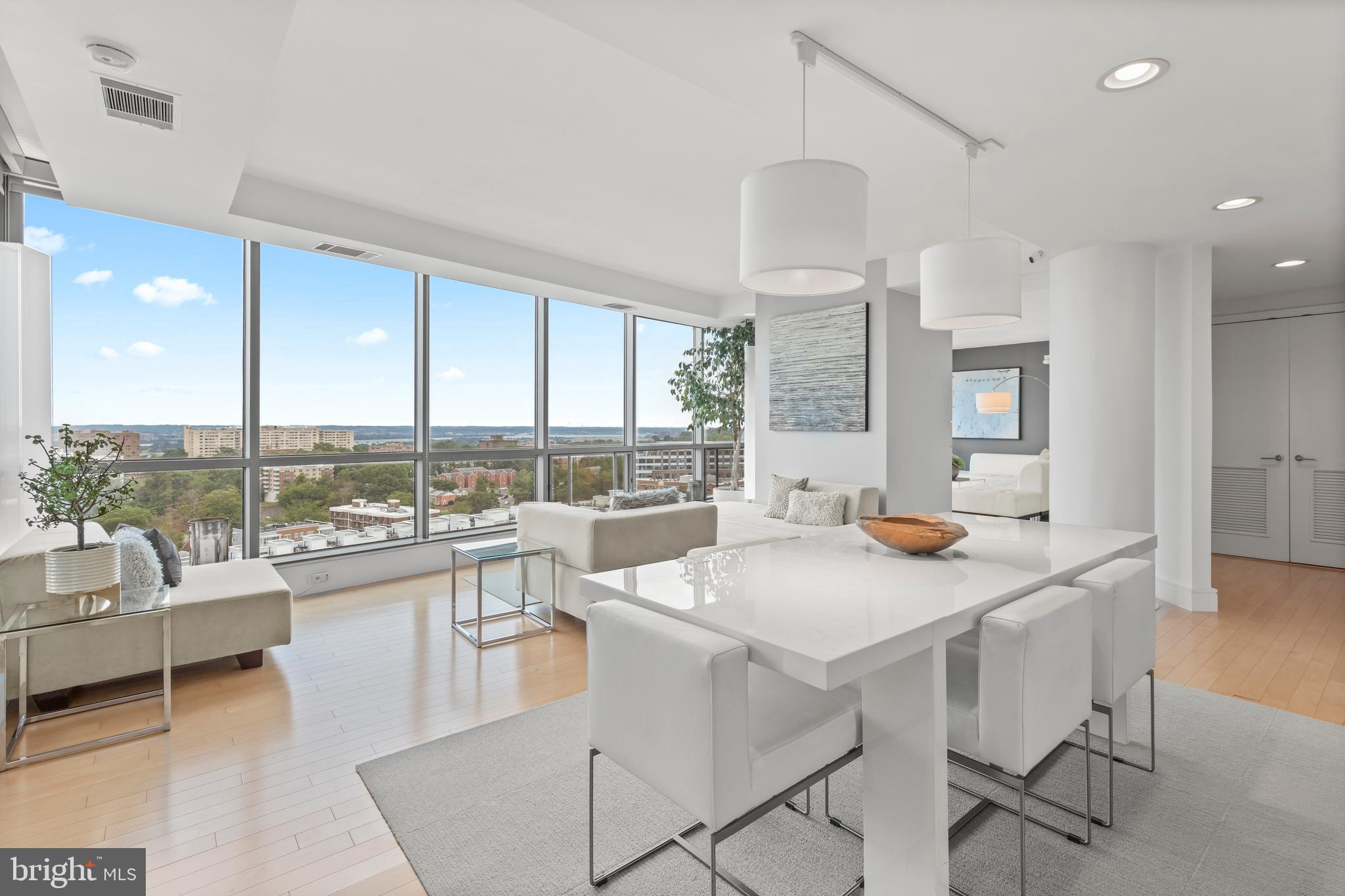 Welcome to Platinum Unit 1004, a one-of-kind rare custom corner unit, with a floor-plan that combine