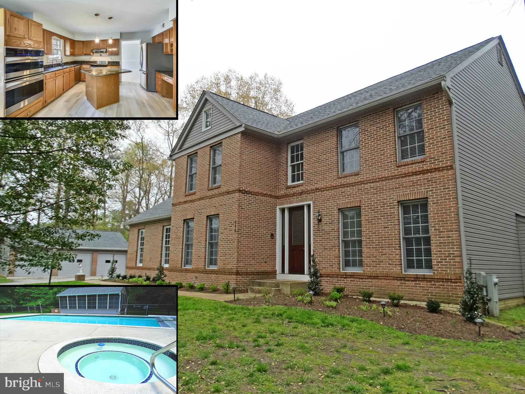 Spacious 5,000 sq/ft home on a private 2.85 acres. Your private compound also features a heated in-g