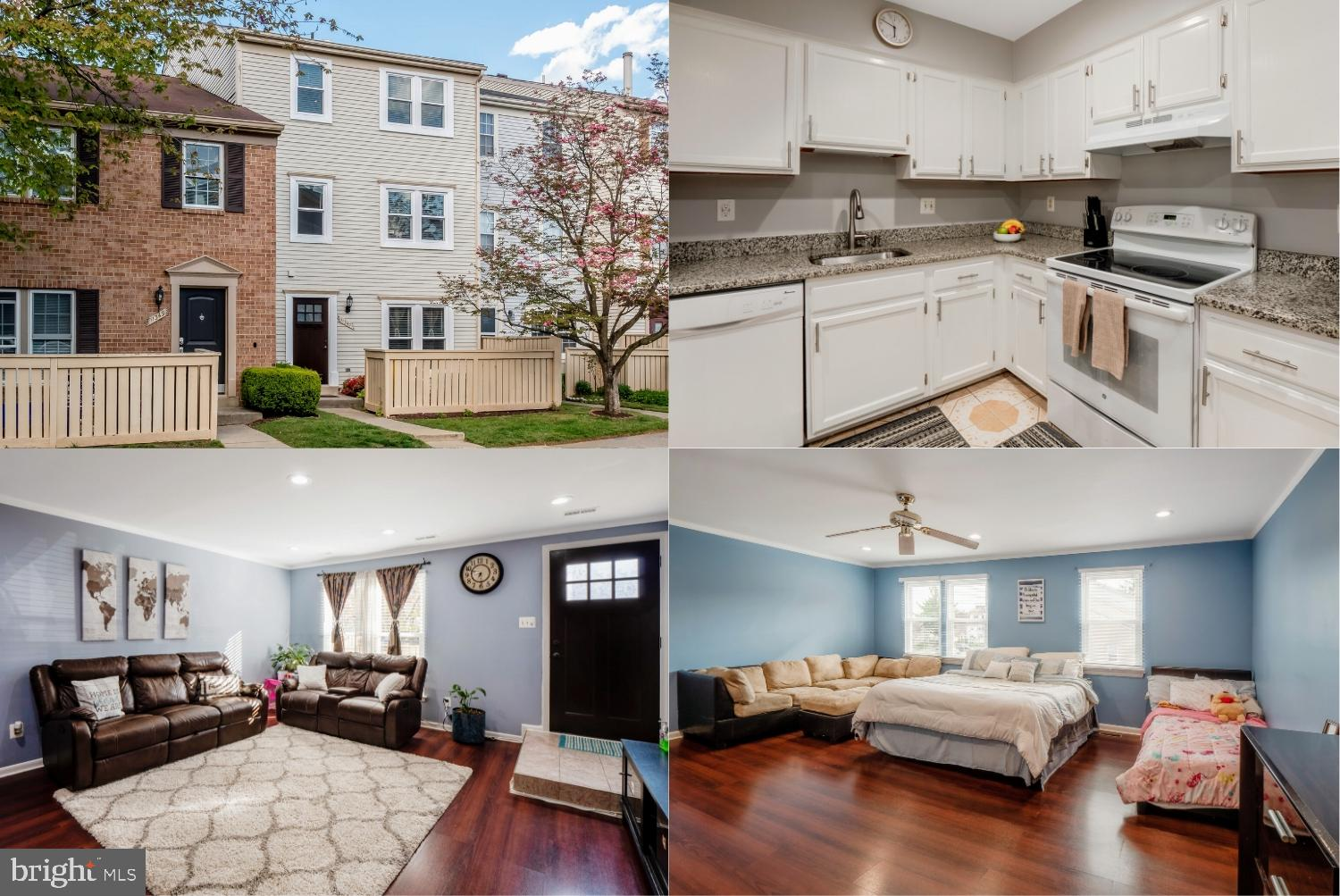 Beautiful three bedroom townhome style condo with a privacy fence surrounding front patio. Located n