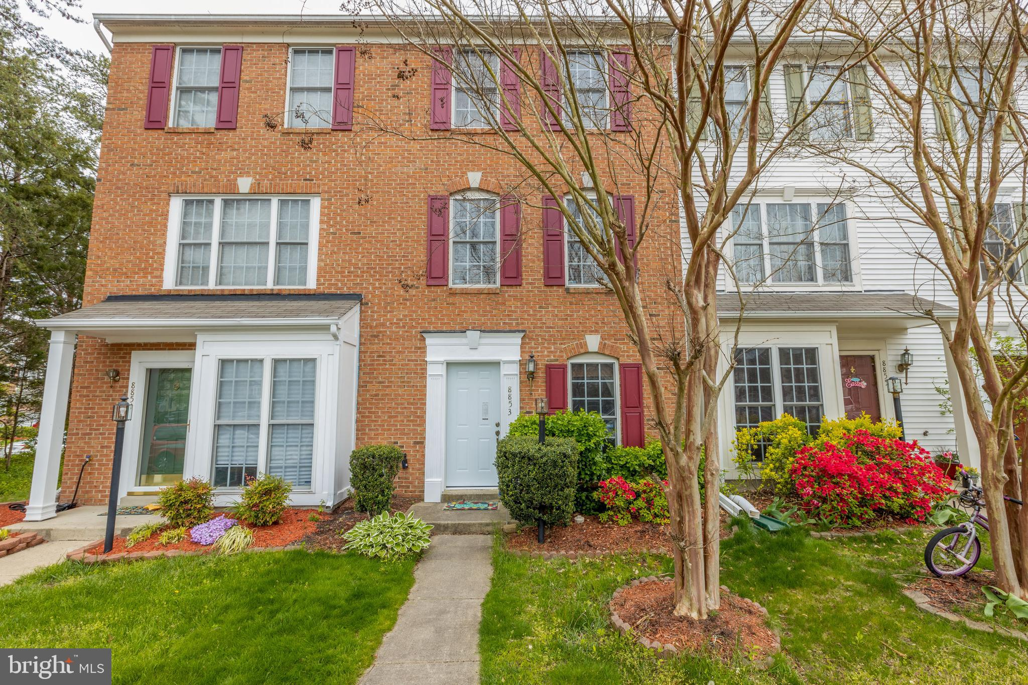 Back on market- PRICE REDUCED! Beautiful townhome offered with 3 finished levels, 3 bedroom, 2 full