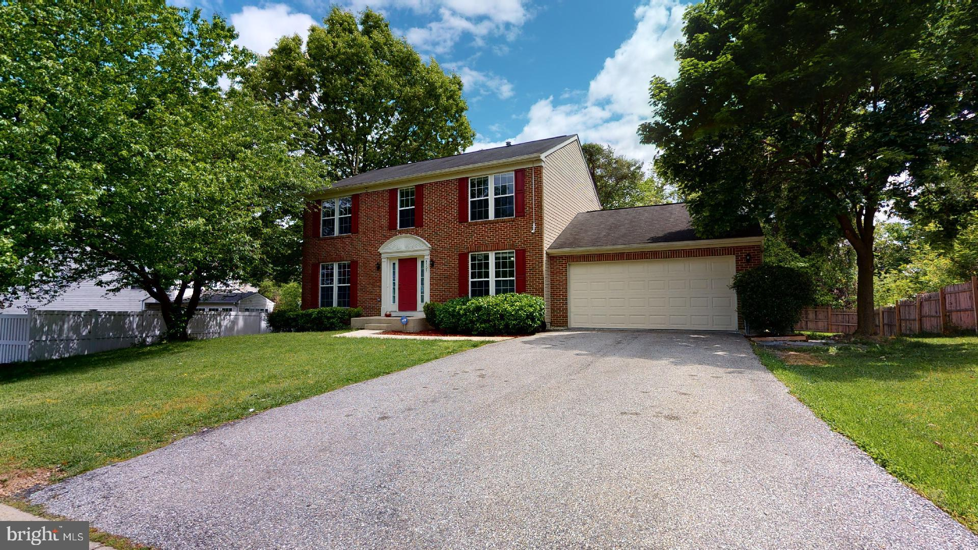OPEN HOUSE SUNDAY, JULY 5th 1-3PM!! PRICE REDUCED!! Beautiful Brick Front SFH with 4 Bedrooms & 3.5 Bathrooms, 2 car garage and plenty of parking spaces, wood flooring on first level, new carpet on 2nd level, fresh paint throughout the home, Gourmet kitchen with granite, island and SS appliances, family room on main level, basement has a kitchenette with den & full bathroom, walk-up level, large fenced back yard with deck to entertain family & friends, great location, close to 495, Rt 50, Fed Ex Field, Metro Station, Largo New Town Center & So much more!
