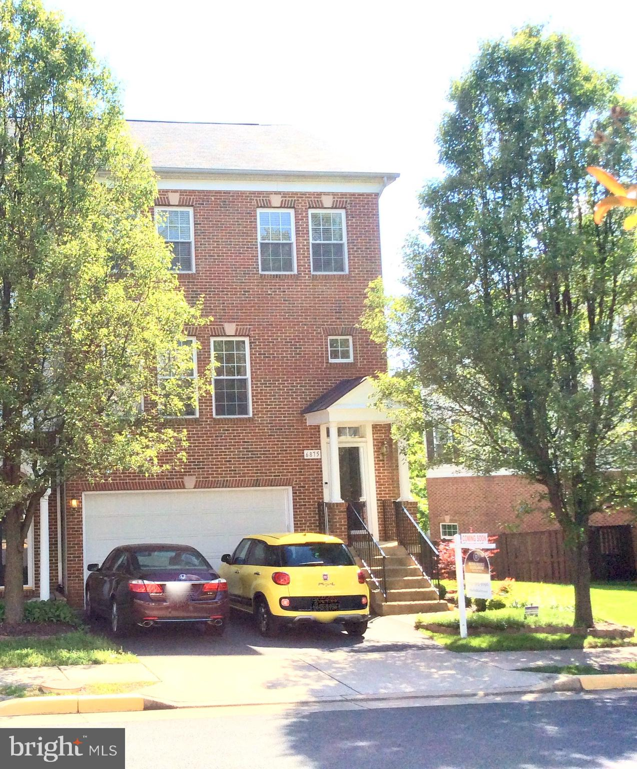 Beautiful, Well Maintained, Brick Front, End Unit Town Home that backs-up to woods for great privacy while enjoying the deck.  The home is complete with 3Bedrooms, 3.5Bathrooms, Formal Dining Room, Breakfast Area, Living Room, lower level family room w/13 foot ceilings and fireplace with upgraded hardwood flooring on the first level. The upstairs features an amazing upgraded Master Bedroom and Bath, Laundry Room, 2 additional spacious Bedrooms and full bath.  The Kitchen has updated/upgraded beautiful 42 inch cabinets, appliances, backsplash, and breakfast bar.  2 Car Garage with extra storage.  Minutes to Metro, Kingstowne, 495, 395 and 95.  Lock Box on front door.  Due to COVID-19 request a maximum of 3 people view the home at a time.