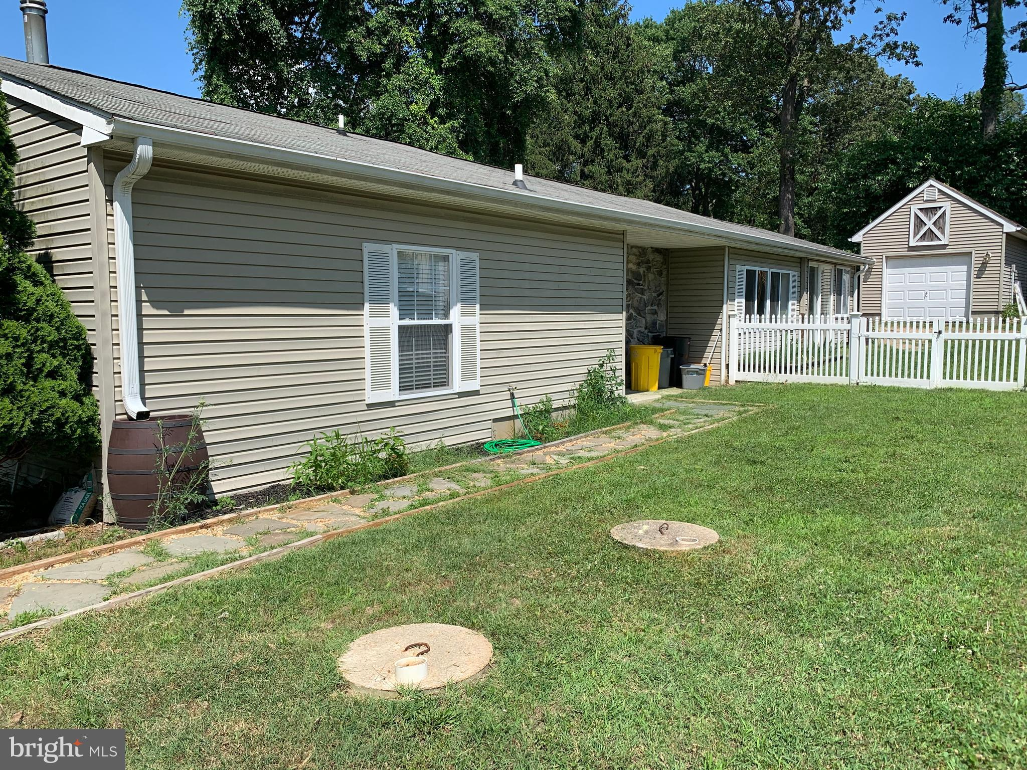 Beautiful rancher with easy one level living!  Large living room including sunroom addition with gle