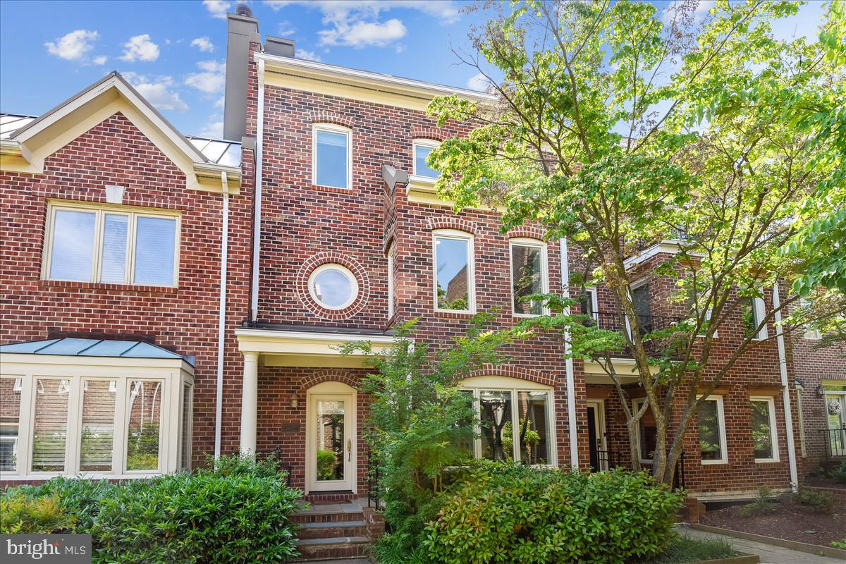 NEW LISTING-  This stunning move-in ready  townhouse in the exclusive gated community of Hillandale