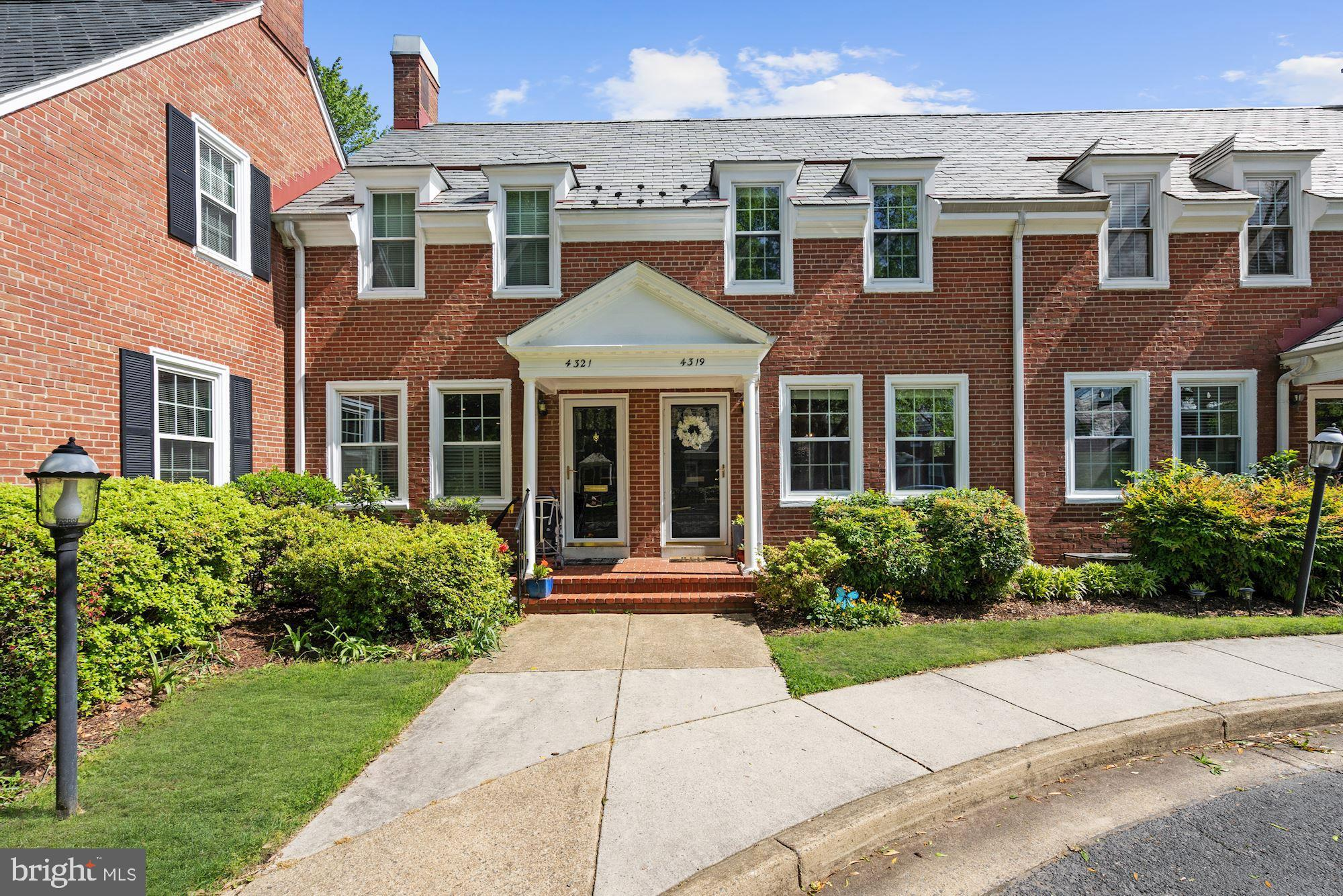 Ideally located Full-Size Clarendon in the ever-popular Fairlington/Shirlington neighborhood. Some of the beautiful finishes include - a renovated and open gourmet kitchen with leathered granite counters, recessed lights, new cabinets, refrigerator, and breakfast bar. Entire main level is full of natural light and walks out to a spacious brick patio for relaxing and entertaining within your fenced in yard. A sharp upstairs bathroom renovation, hardwood floors on the main and upper level, drywall instead of paneling on the lower level recreation/family room with recessed lighting and possible 3rd bedroom and full bathroom. Kitchen, HVAC, Fence, Roof, Patio, lighting, etc all completed in the last 3 years. Additional amenities include one reserved parking spot right out front. Fairlington low fees include access to the outdoor pool, common grounds, tennis courts, and a tot lot/playground.Four amazingly close shopping areas include the brand new Alexandria Gateway, The Villages of Shirlington, Bradlee Shopping Center, and Fairlington Centre, all with restaurants, shops, and satisfying treasures. Tree Lined streets and large open green spaces make Fairlington such a desirable place to call home. All of this, and quick access to Old Town Alexandria and Washington DC, with the convenience of I-395 and multiple Bus services to Pentagon City Metro and King Street Metro. Fairlington is listed on both the National Register of Historic Places and on the Virginia Landmarks Register.