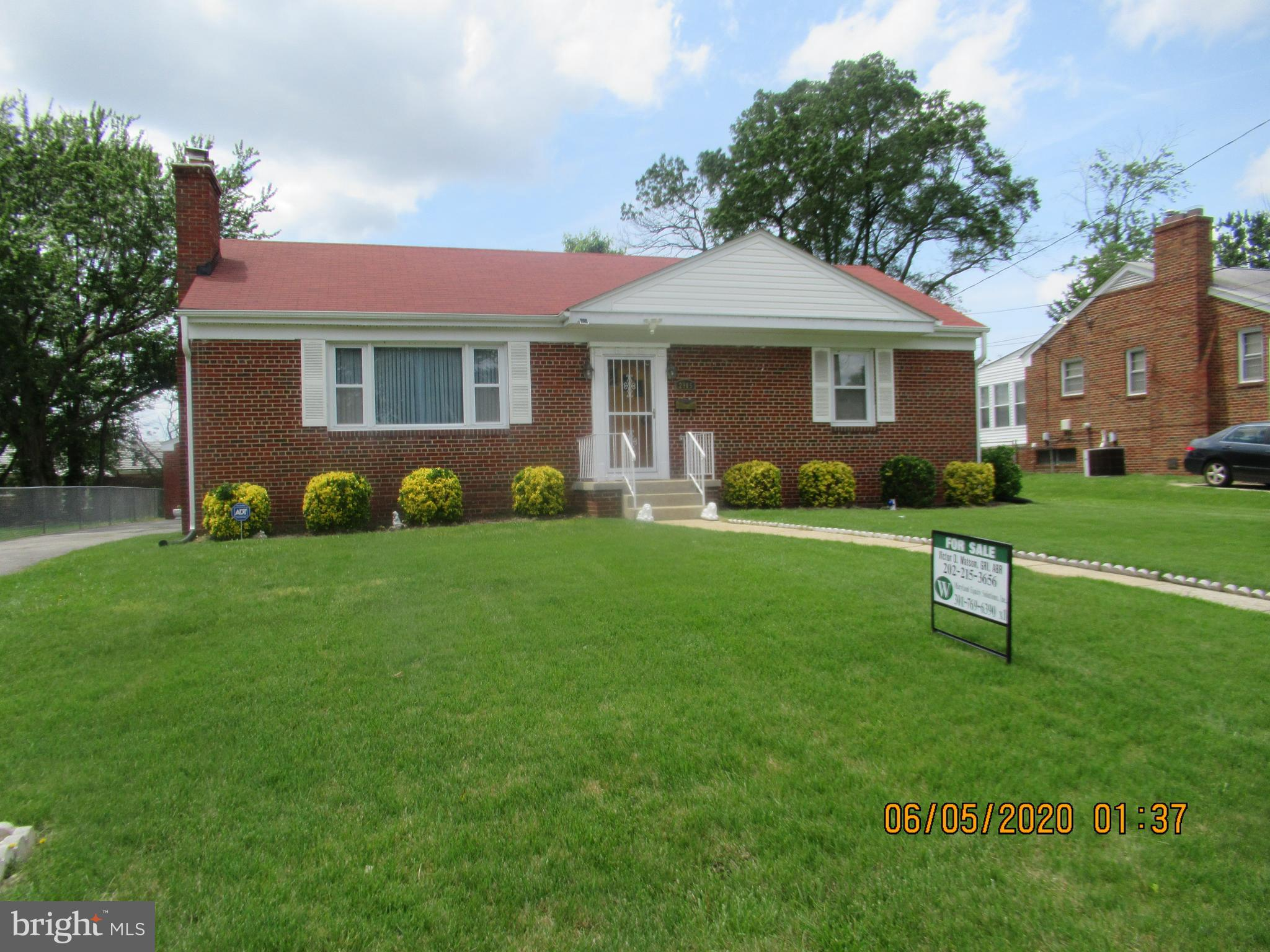 Detached Brick Rambler, two car detached garage, deck, brick patio, shed, gazebo, enclosed sun porch