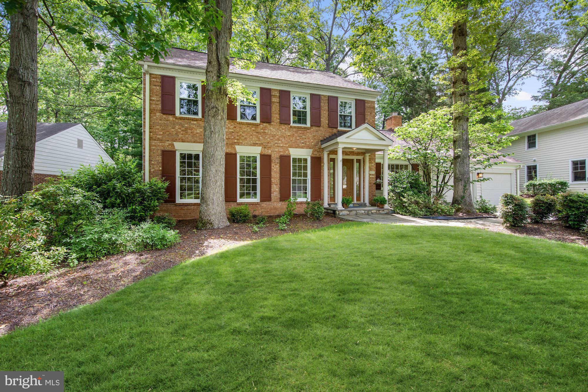 THIS IS A WINNER!  This charming colonial, located in one of Potomac's most sought-after neighborhoo
