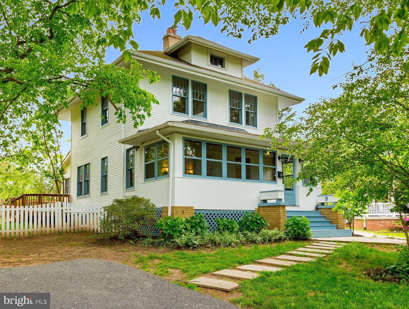 This classic 1918 Sears catalog house has everything you need to call it home! The updated house com