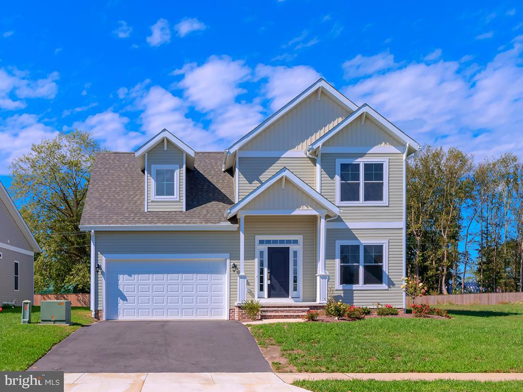 """Why wait to build, this move-in ready new home in """"America's Coolest  Small Town""""  is here for you!"""