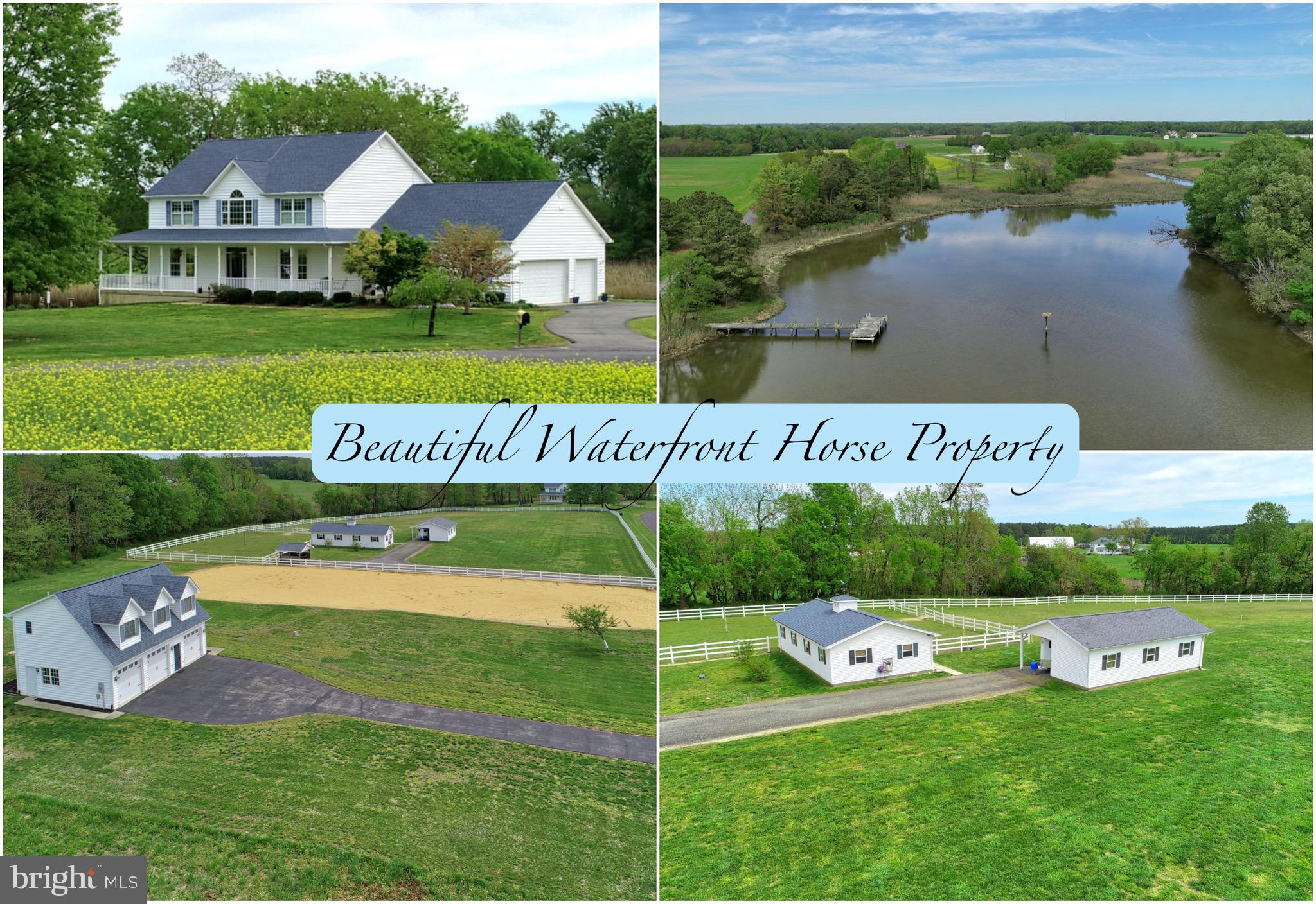 This horse property has been meticulously maintained and it is very well appointed! This is a specia