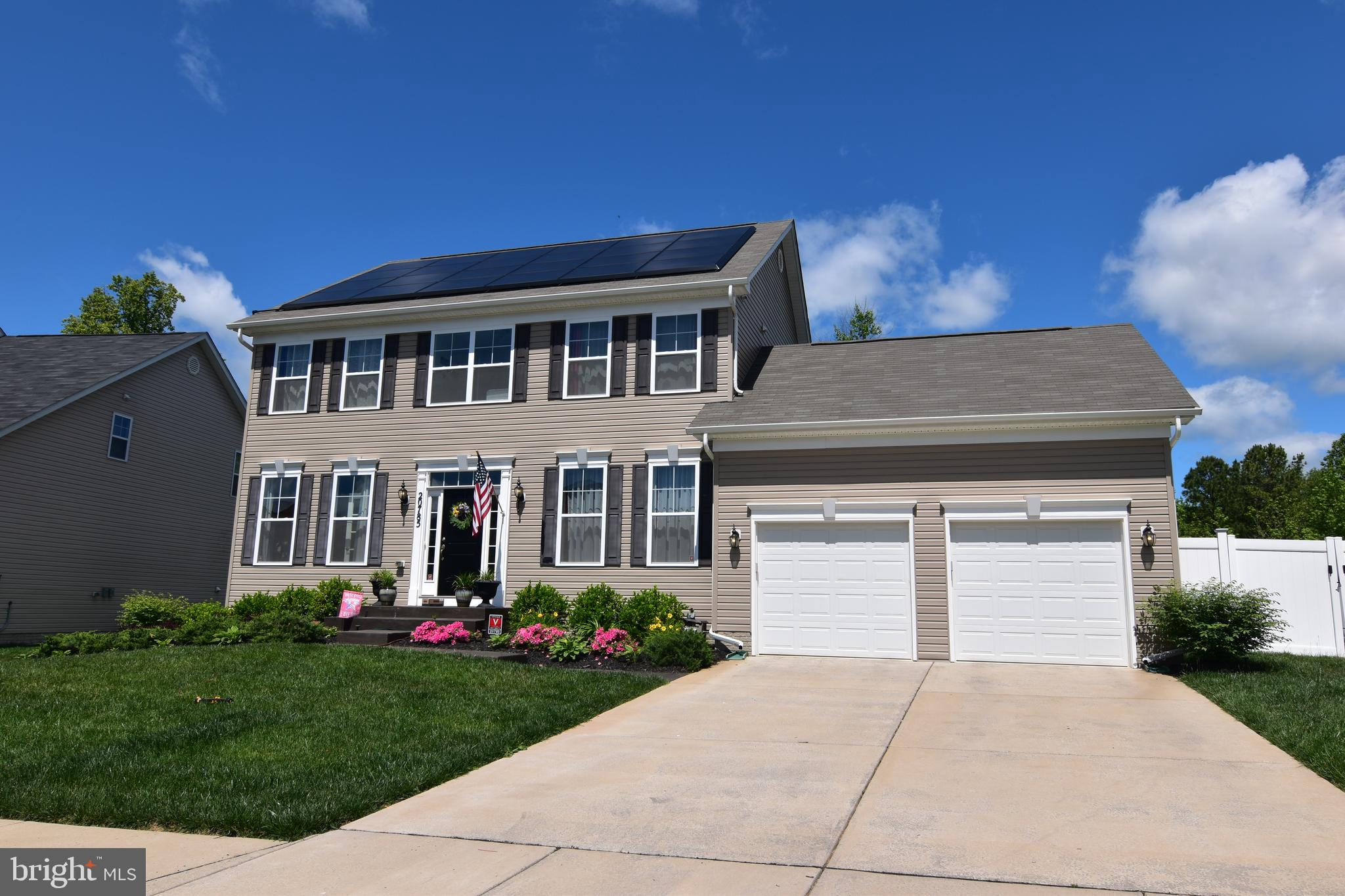 Come home to this 3 year old Colonial with a finished basement. Extensive landscaping, deck and fenc