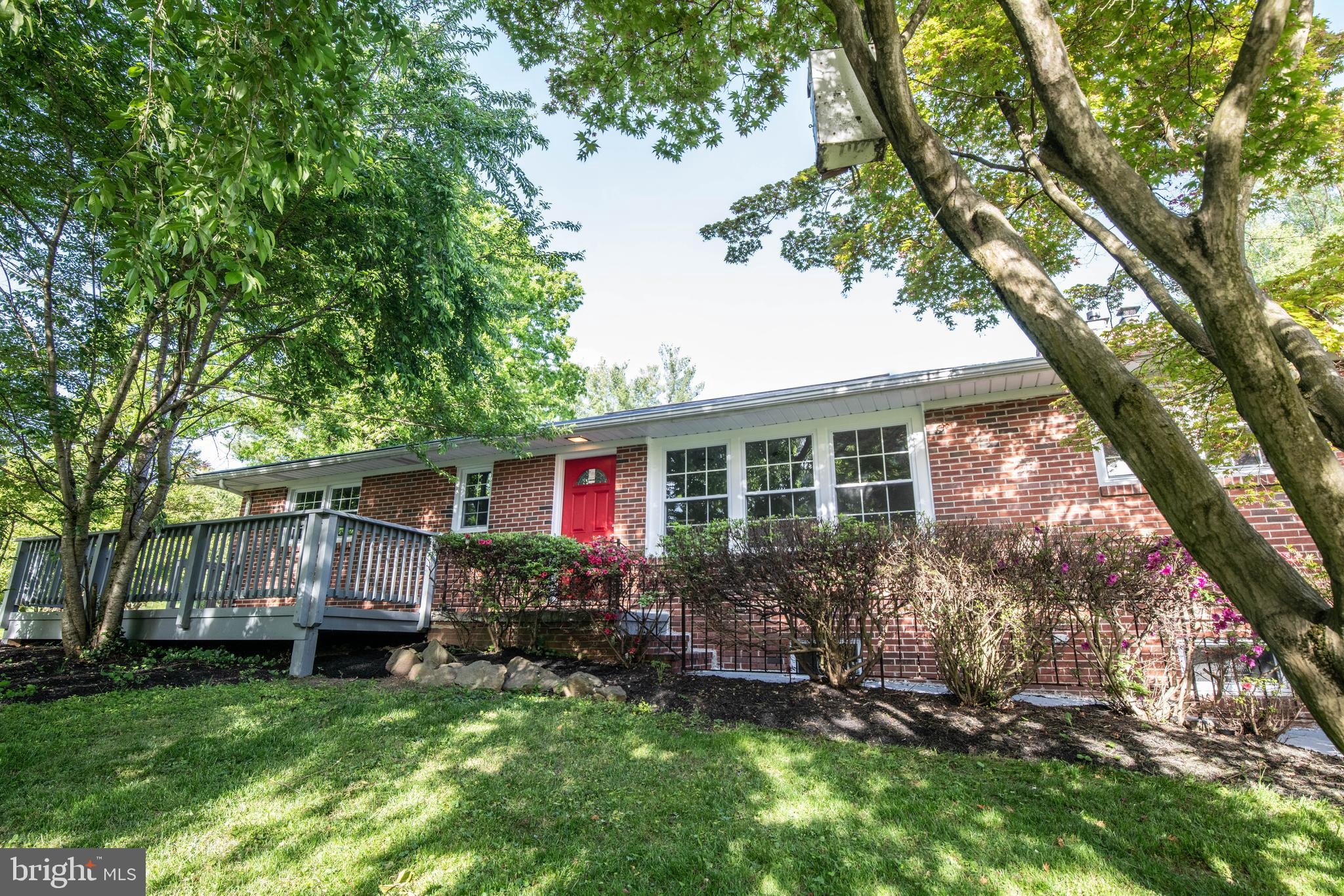 Fully renovated Rancher close to everything! Right down the street from Harford Mall, this property