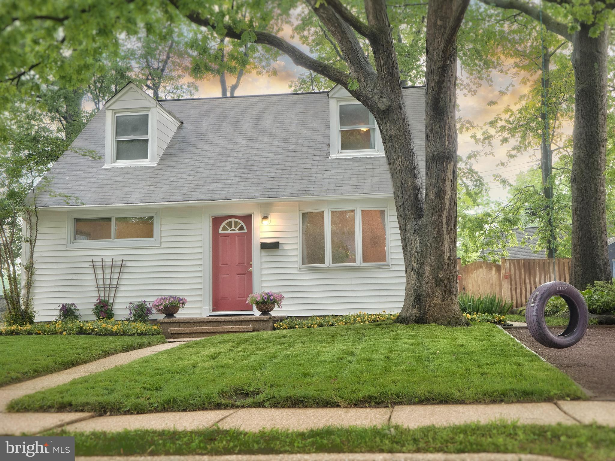 Beautifully updated Cape Cod with 4 bedrooms and 1 1/2 baths. Eat-in kitchen with maple cabinets and