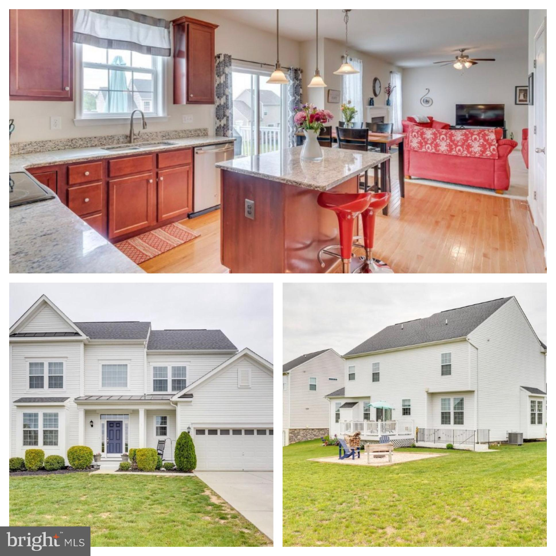 Fabulous freshly painted and sparkling clean home.  The finished walk out basement with large Recrea