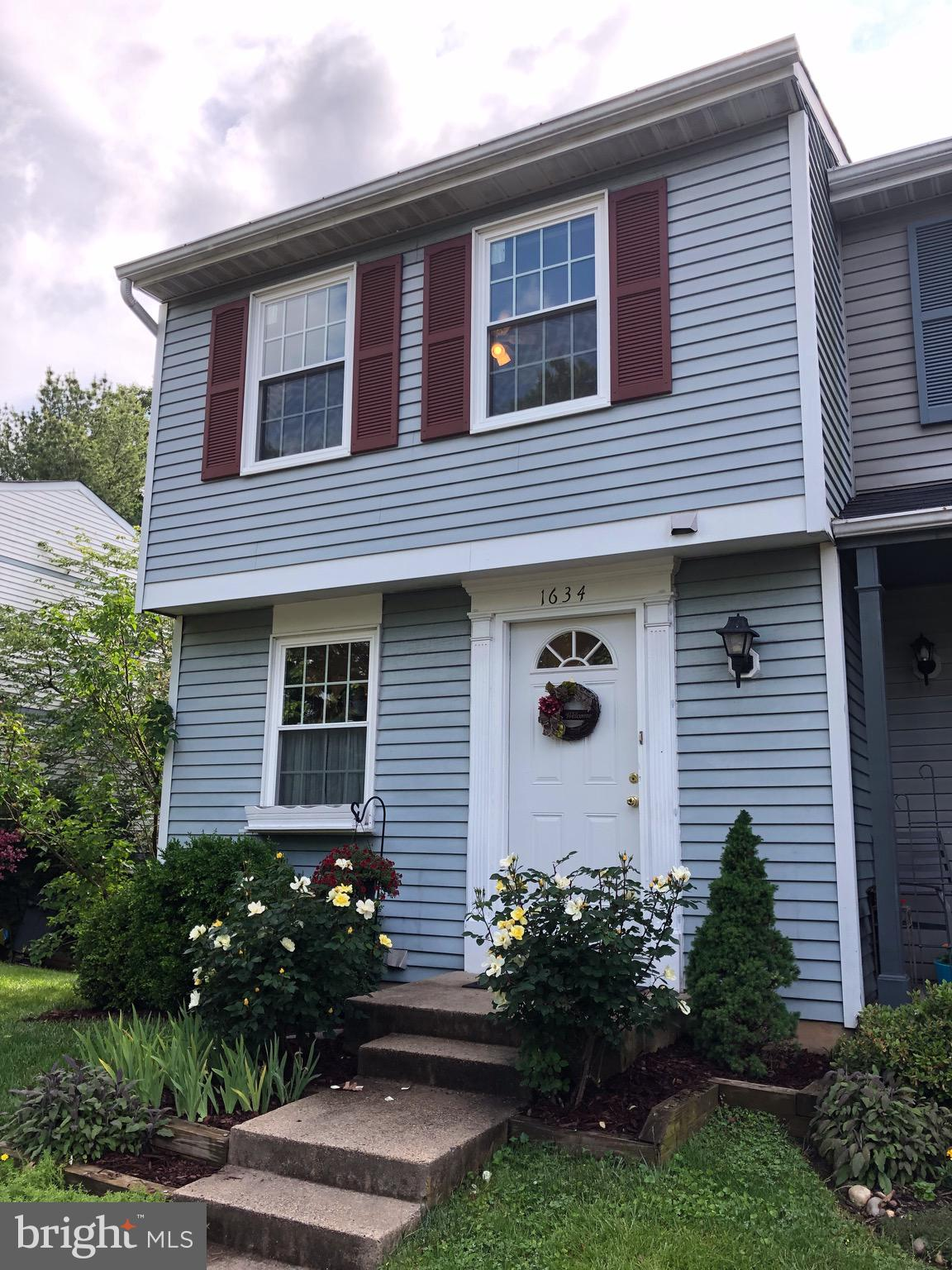 The perfect Reston Townhouse! End unit! Three finished levels!  Main level has an updated kitchen wi