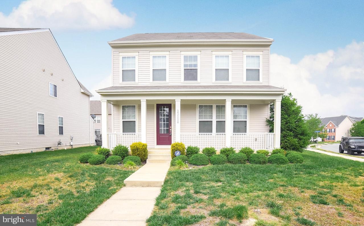 Beautiful 3 level home with 3 bedrooms, 2 1/2 bathrooms and an unfinished basement located in Wildew
