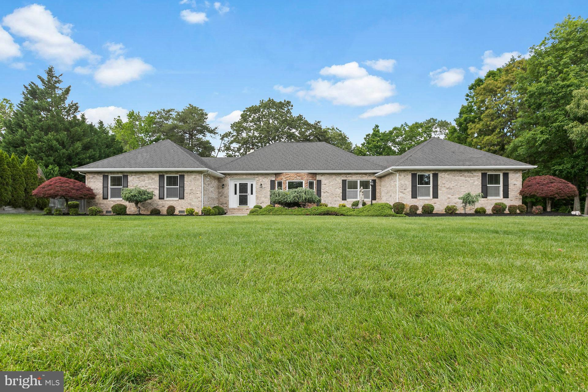 Tremendous Value!  Brilliantly Renovated One-Level Brick Home in  La Plata! This amazing home offers