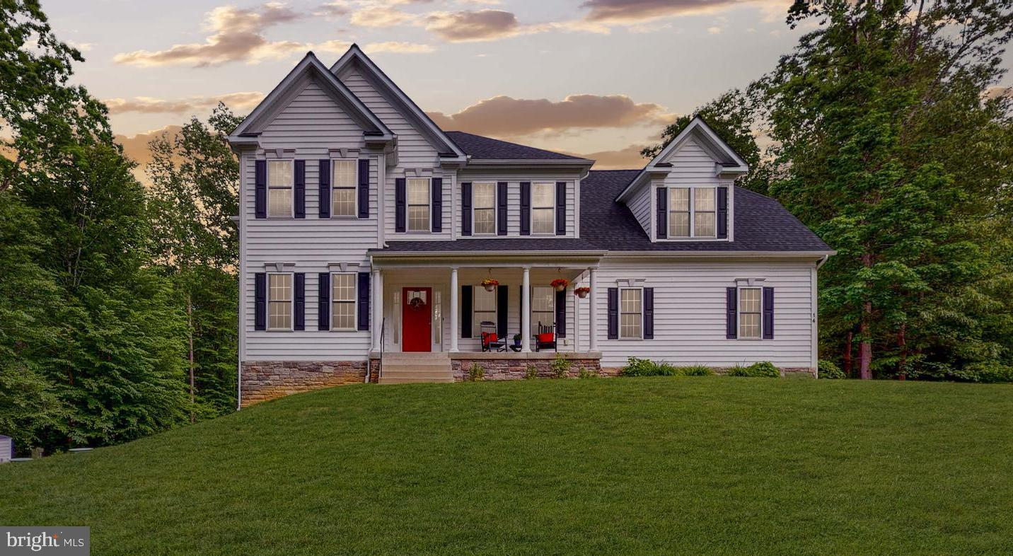 2015 Custom built Colonial with all upgraded fixtures, wood floors and appliances. Located on a prem