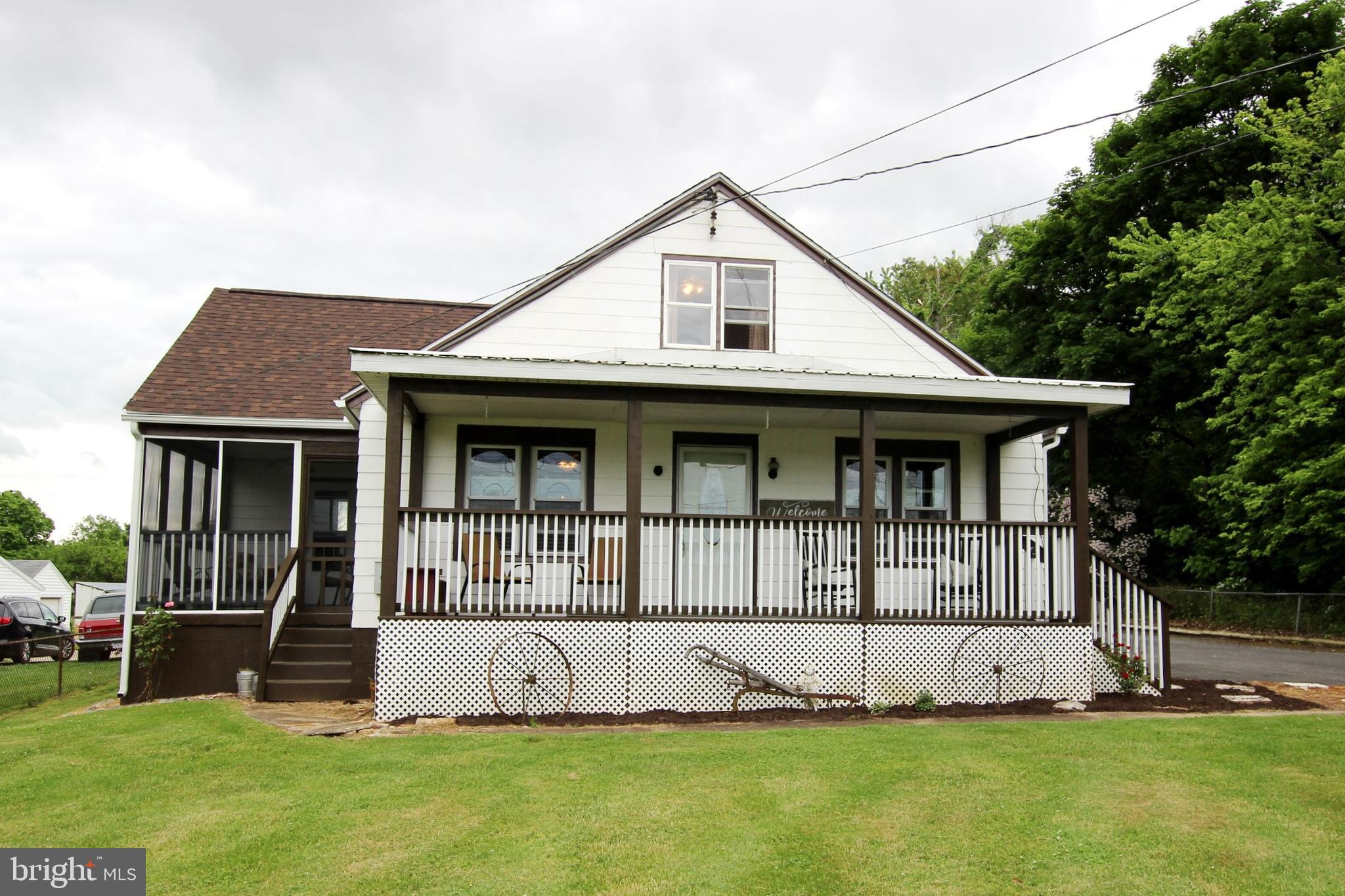 This charming 3 bedroom Craftsman style home is ready for a new owner! Relax on the newly constructe