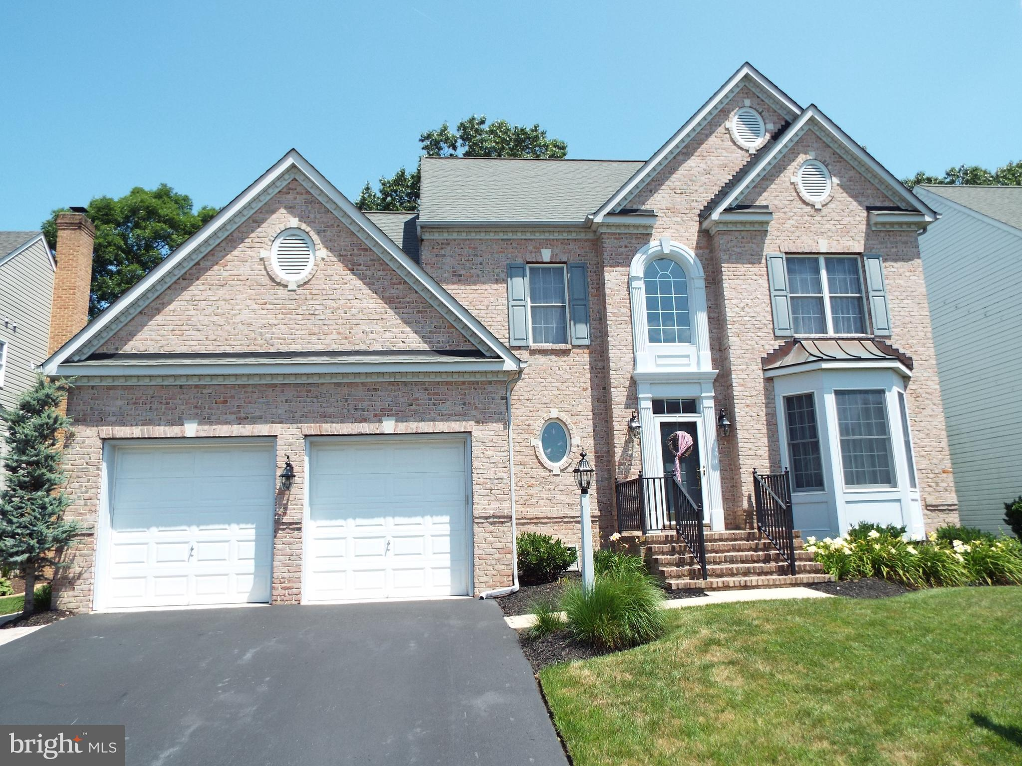 Stunning brick front colonial is a must see! Super clean with many updates such as hot water heater,