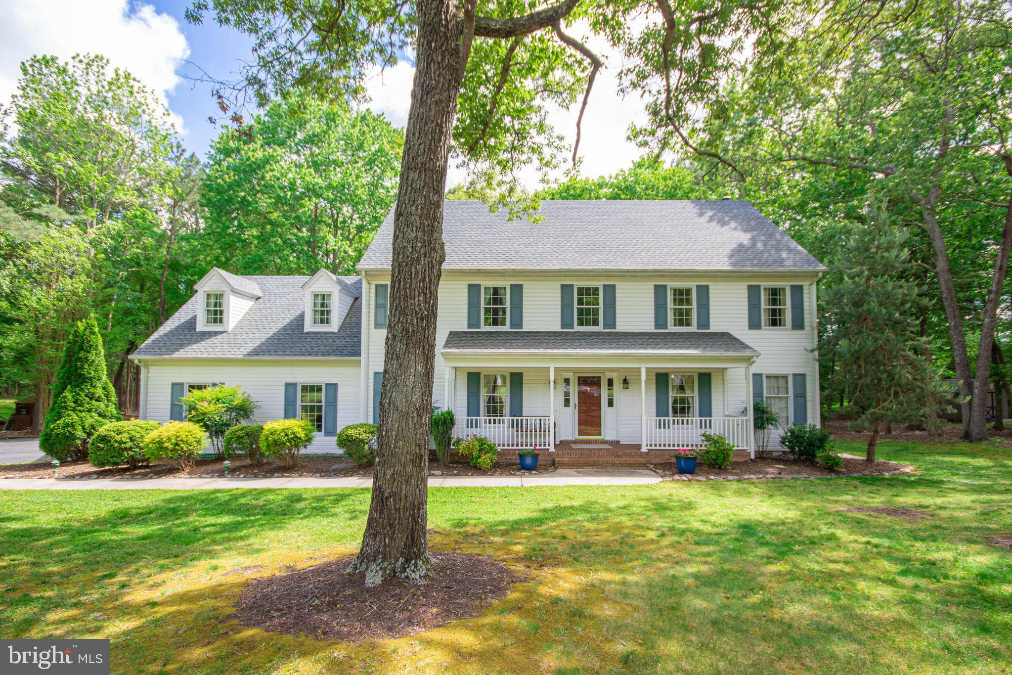 This lovely home in the prestigious south side community of Foxchase  has so much to offer!  It has