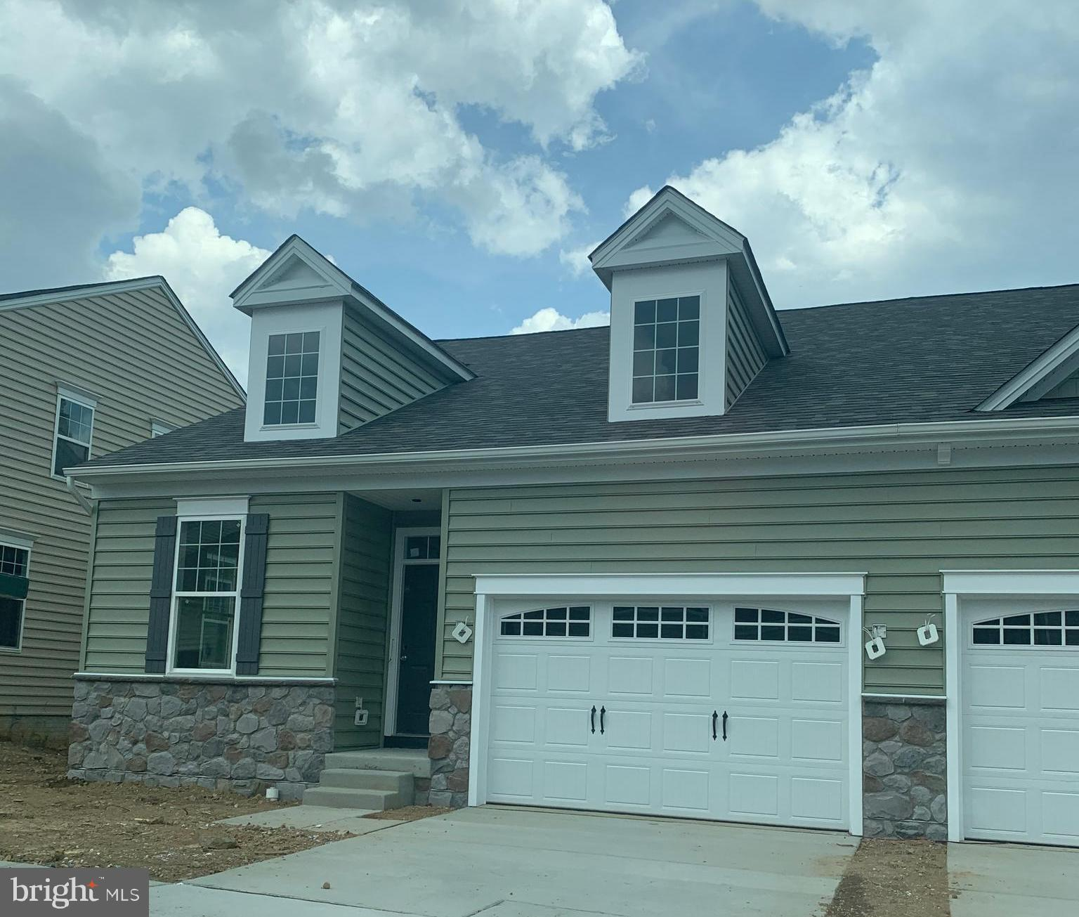 Our newest addition at the Reserve at New Windsor.  A true rancher which offers one level living at