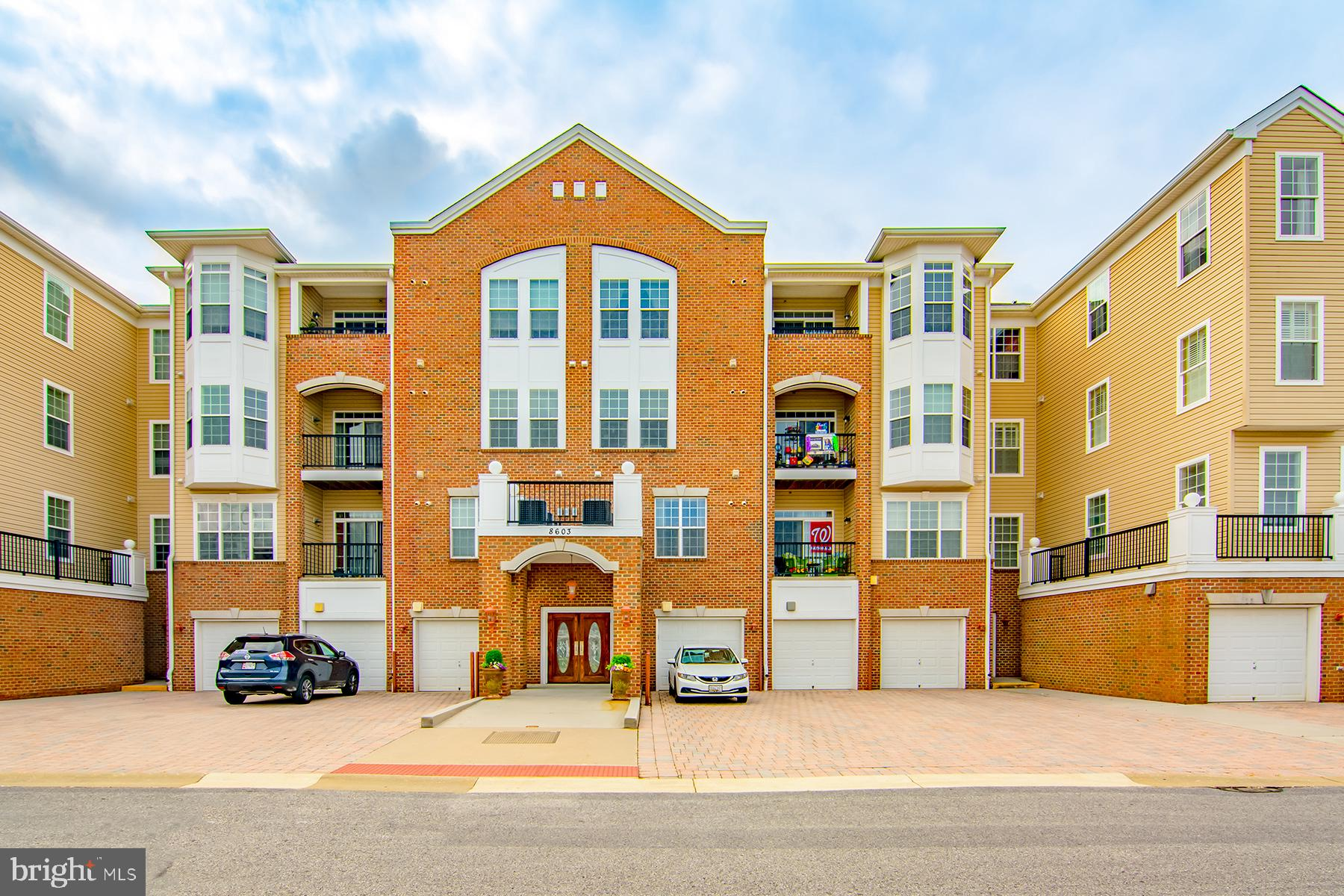 Impeccably maintained 3rd floor unit in sought after 55+ Gatherings at Forest Glen is light, bright