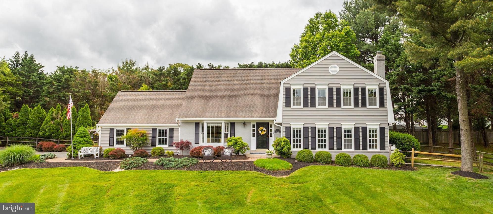 Welcome Home to this updated classic colonial located in the sought after Seneca Highlands area of D
