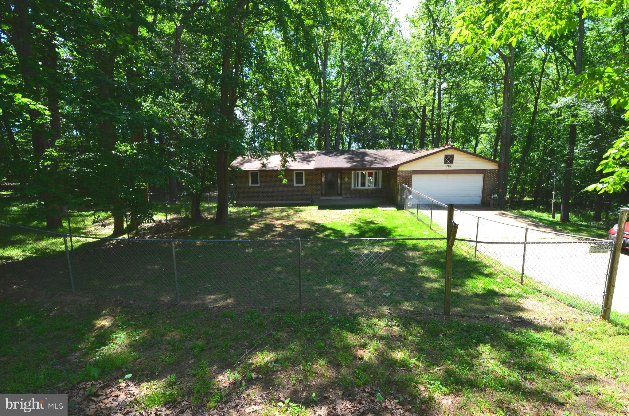 Great opportunity to own a home on almost 3 acres. Brand new well, septic upgraded in 2019, open flo