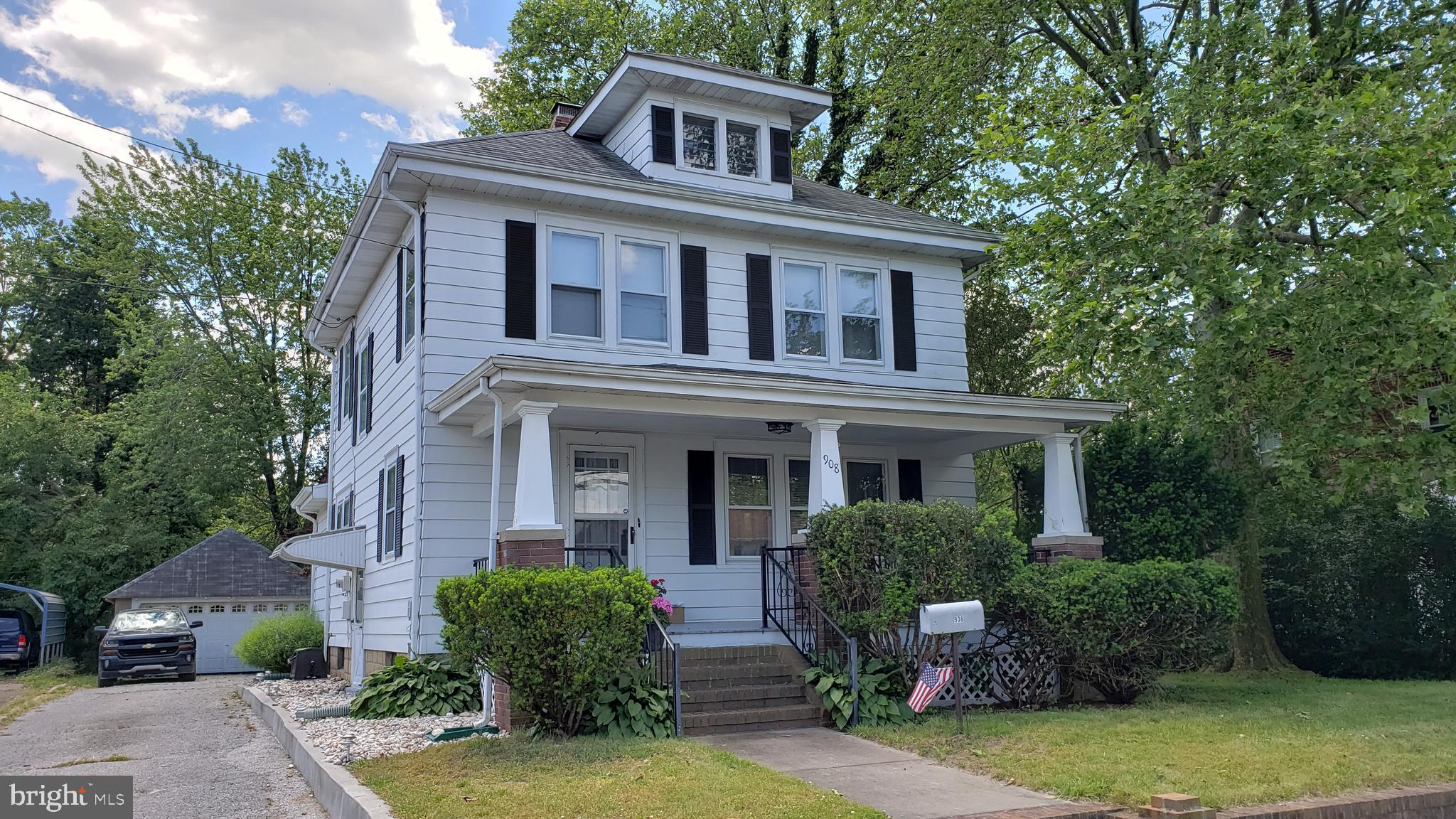 This old charmer has all the perfect updates! Great in town location, close to Rehoboth Boulevard, b