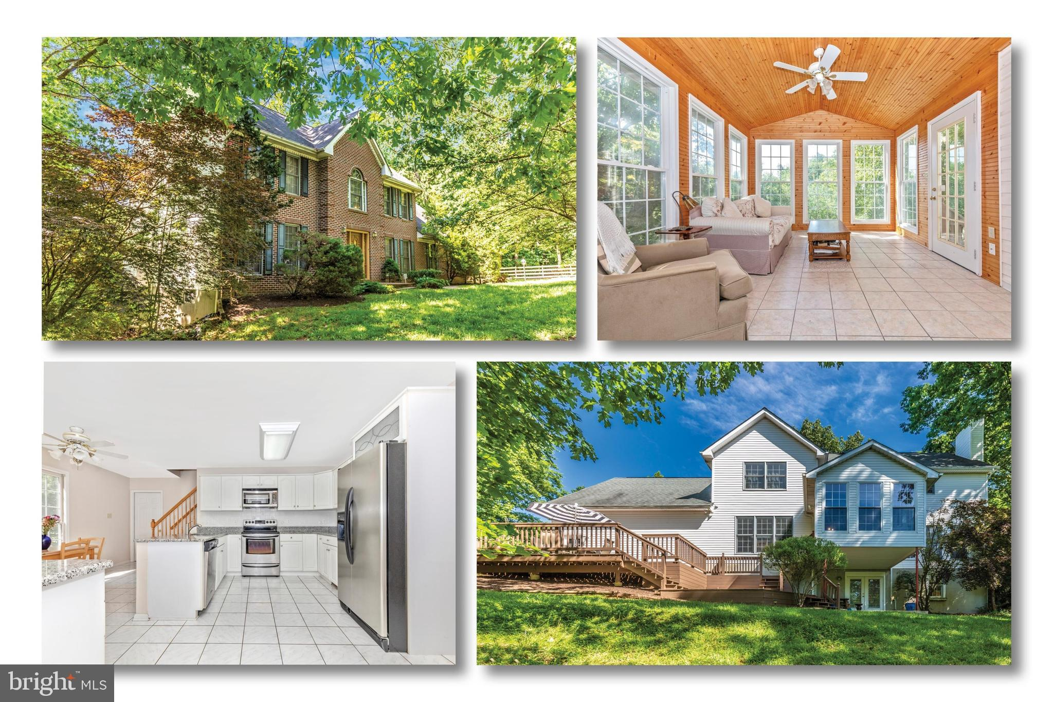Don't miss this fabulous custom built home located on one of most private lots in Sam Hill Estates!