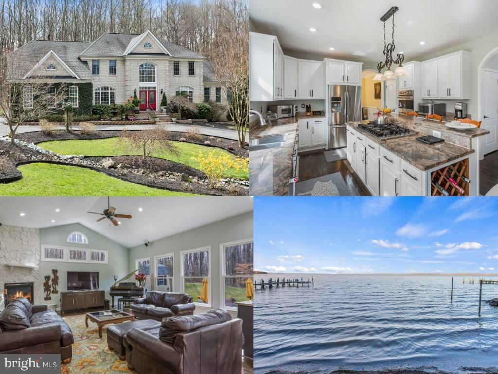 Enjoy living on 3 serene acres overlooking the Potomac River with water access! This home is incredi