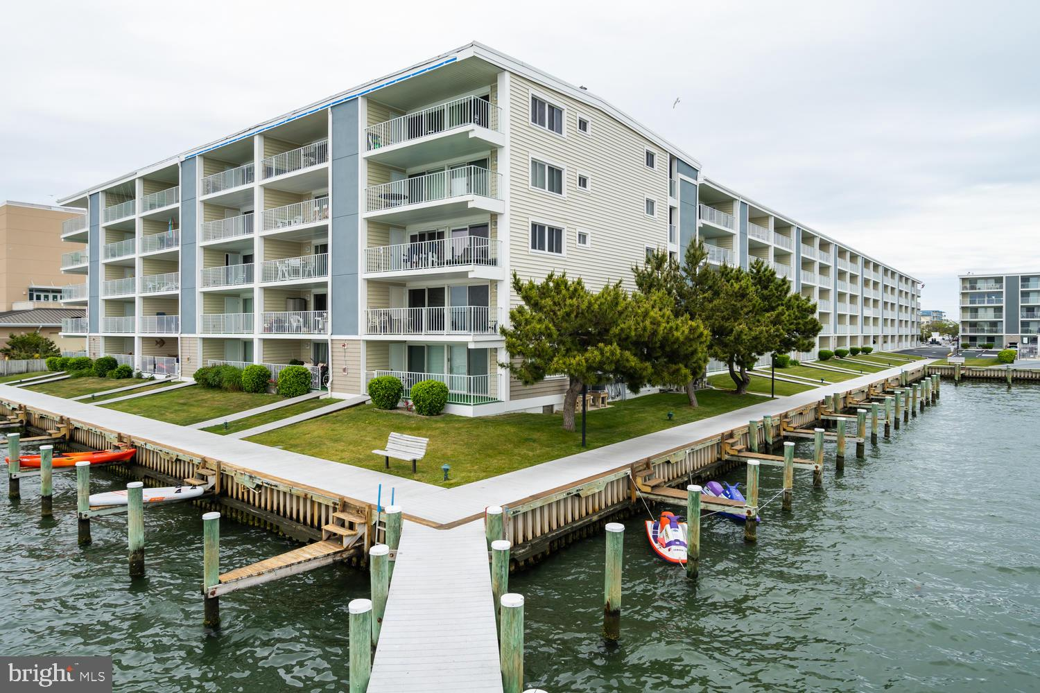 Rare BAY FRONT unit available in Building A of Thunder Island! Two Bedrooms and Two Full Baths with