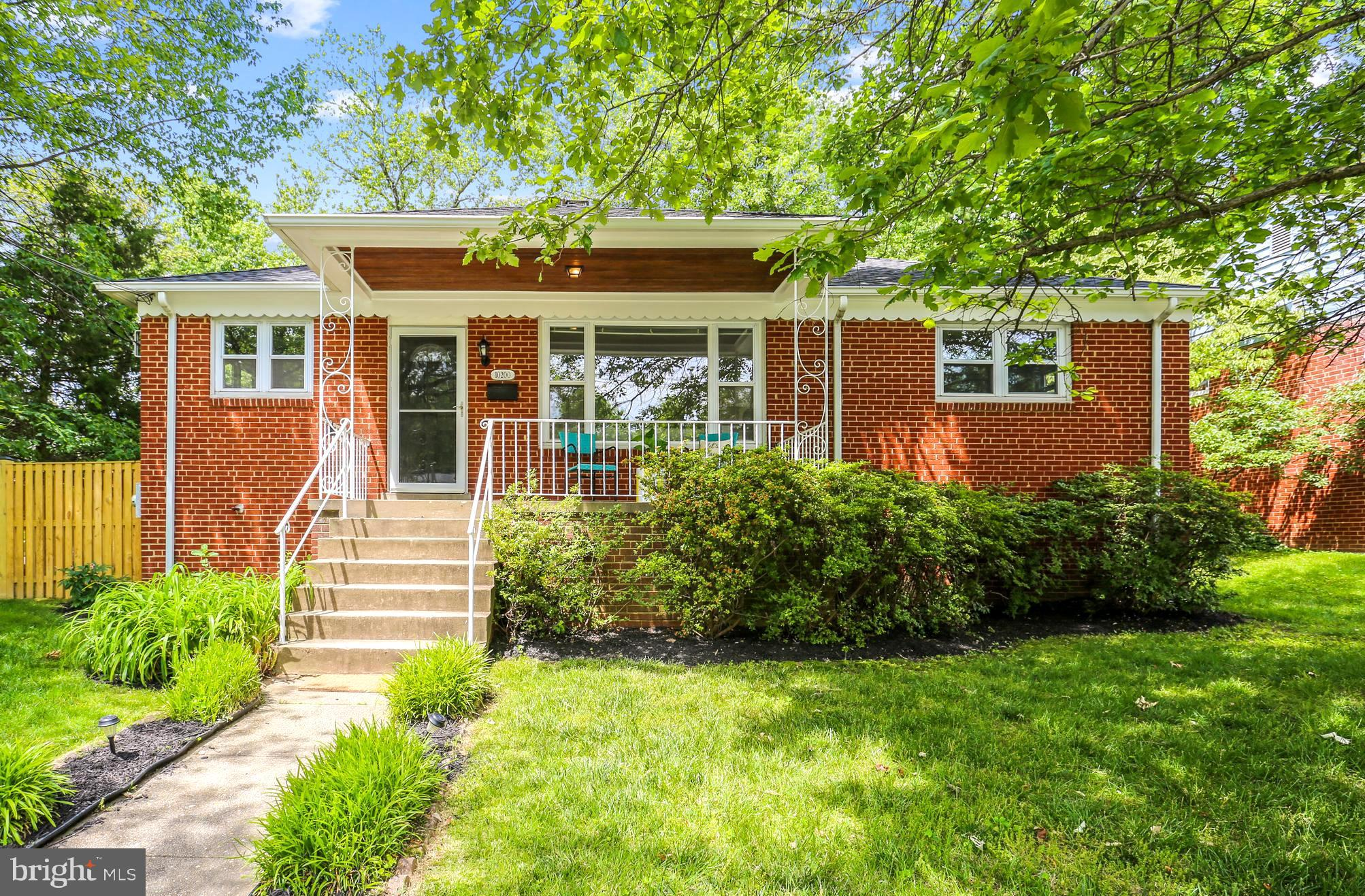 This wonderful, well-maintained and fully updated rambler will make a great home for a lucky buyer! Situated in the super convenient and friendly neighborhood of Carroll Knolls, you are just outside of the Beltway, with easy access to Metro, the MARC train, and all major commuter routes. Working from home? There are 2 perfect home offices on the lower level (not included in the bedroom count)! You will be welcomed to the house by the inviting front porch - perfect for social distanced visits. Once you enter the house, you will love the open floor plan, the freshly painted walls and the beautifully refinished hardwood floors. The spacious living room has a wood burning fireplace and beautiful, large picture windows. It opens into the dining room with a stainless steel ceiling fan. The whole kitchen has been custom designed and remodeled top to bottom and now features high-end stainless steel appliances, plus great open shelves. The main level offers 3 bedrooms and a remodeled bath. There are new light fixtures all throughout the house as well. On the (fully waterproofed) lower level you will find the great family room and 2 extra rooms - these could be used as a guest room, office, home gym, au-pair suite - the possibilities are endless! There is also a convenient newer full bathroom with a shower. This level has a lot of additional storage (even a potential wine cellar!), and a work room with a bench. The TREX deck was built 5 years ago and features built-in seating and lights.  You can enjoy your outdoor dinners and parties in the privacy of your backyard that is fully fenced-in. This house has been exceptionally well taken care of and fully updated - now it's ready for a new owner. Call Alexa with any questions!