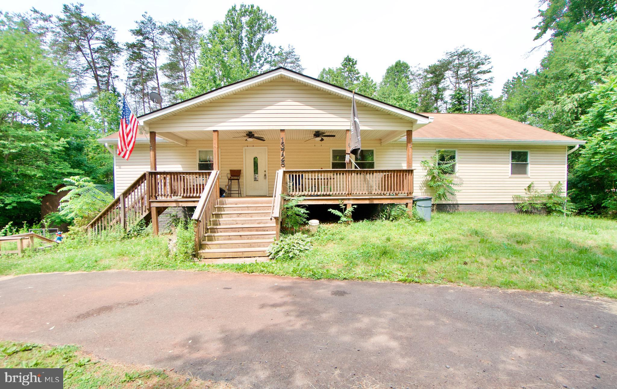 Amazing opportunity to purchase a beautiful home with lots of privacy. Property was rebuilt between