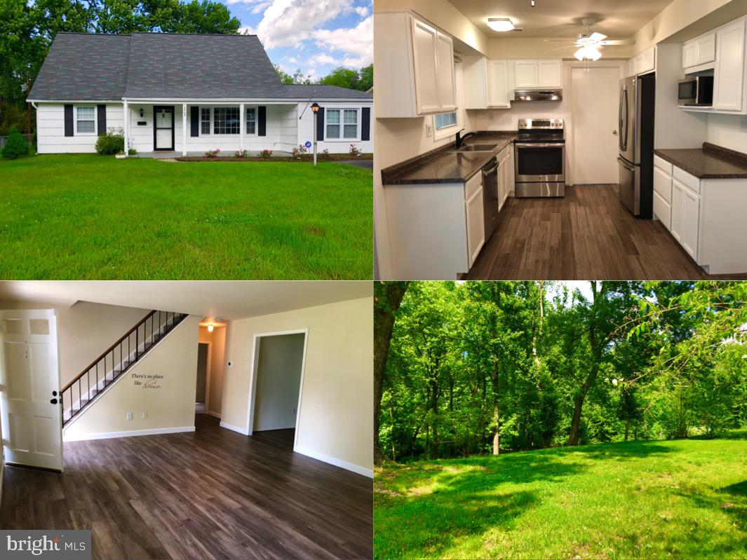 MOVE IN READY HOME! Recently remodeled spacious cape cod is available in the heart of Bowie right of