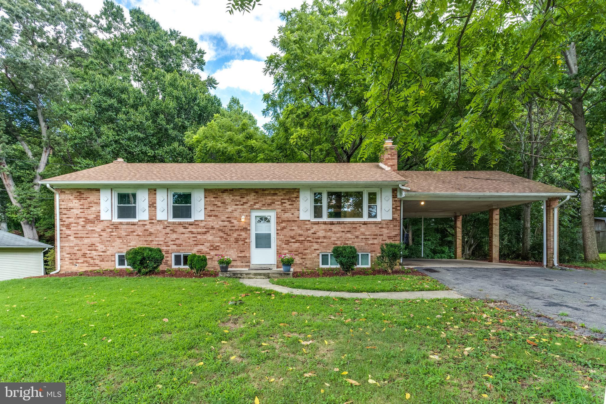 BRICK SPLIT FOYER in NORTH POINT HIGH SCHOOL district has been updated and ready to move into!  Bran