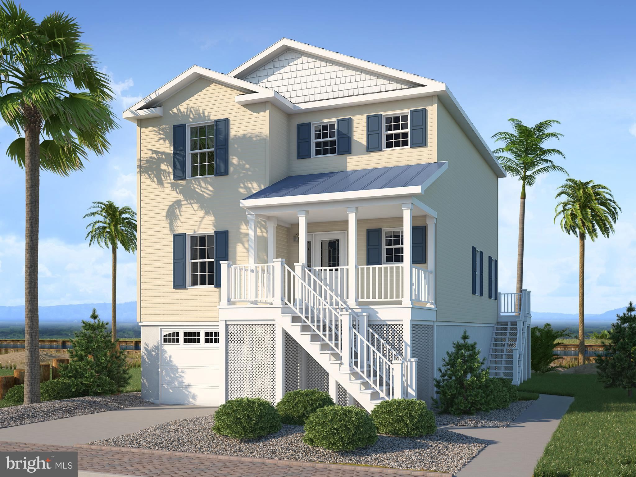 Great opportunity  to own a NEW home on the water for an amazing price. Deep water canal with access