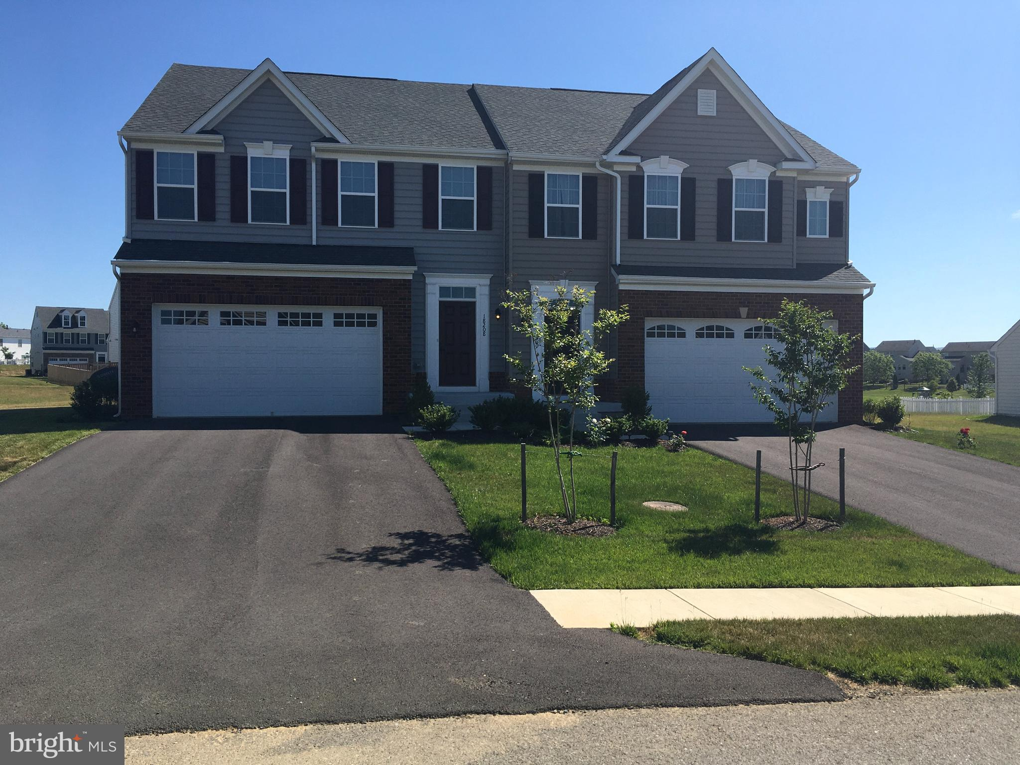 Rare opportunity to own a gorgeous, barely lived in, IMMEDIATE MOVE-IN at Westfields.  In cul-de-sac, 3bdrm, 3.5 baths, 2-car garage villa style duplex with full basement with optional 4th bedroom. This home comes with Ecobee System. Offering every upgrade you can imagine:  luxury flooring, amazingly upgraded appliances/granite counters/recessed lighting/heavily padded carpet/upgraded tile/..the list goes on! Downstairs has a finished recreation area, full bathroom, and storage area. Upstairs has three nicely appointed bedrooms, full bathroom with soaking tub, master suite with his and her walk in closet, master bath with double shower head! Featuring pool, tennis and basketball courts, walking trails and walking distance to community elementary school and other amenities! Just 3 miles to I-70. Look no further; you are home!