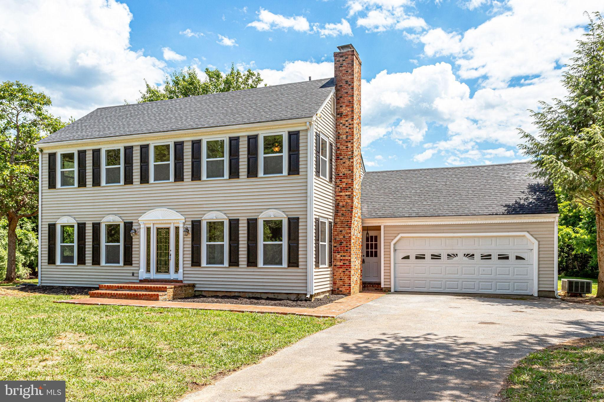 Tranquility awaits! Priced to move! Come see this newly remodeled 2 story colonial home set on 6+ ac