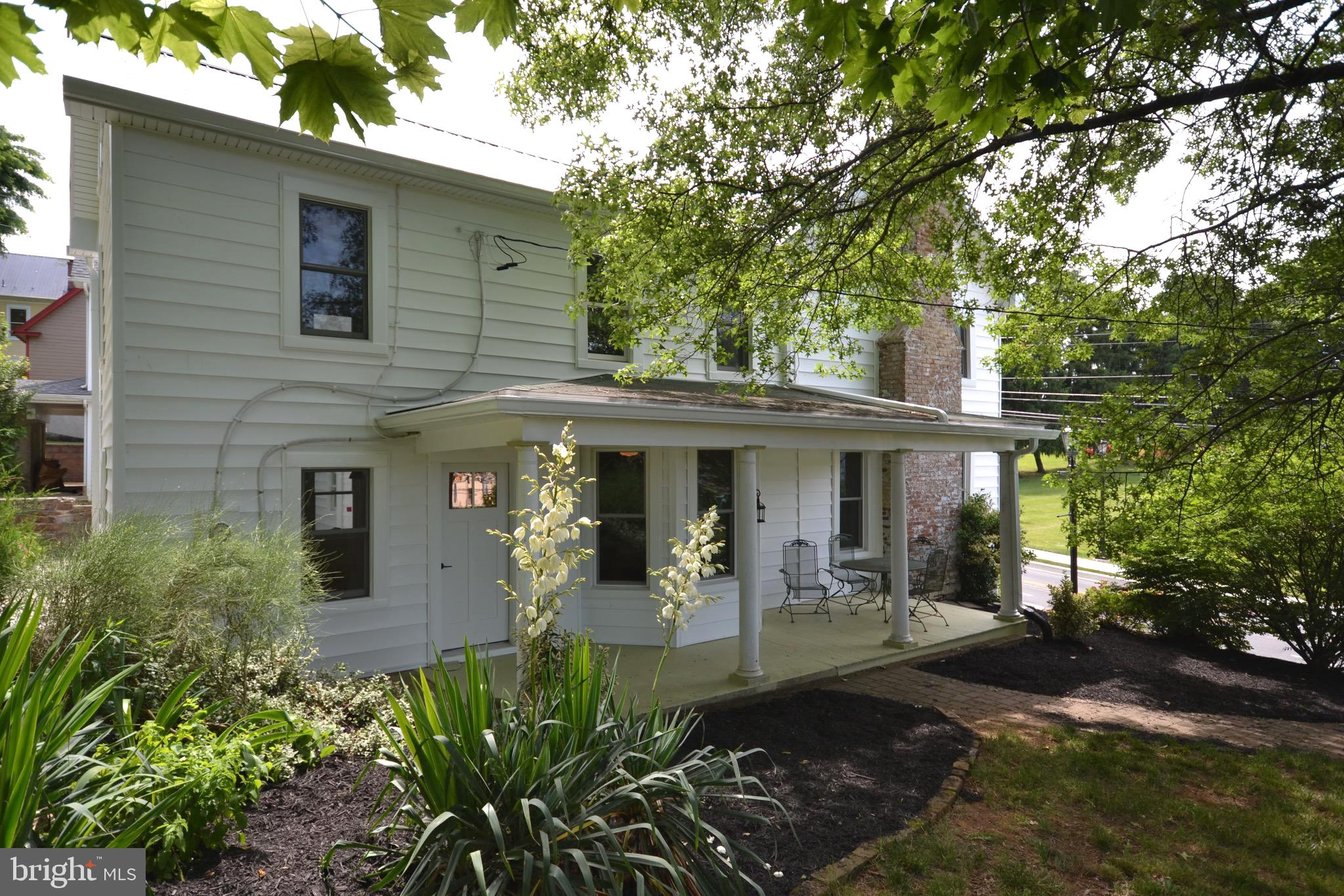 Live in the heart of historic Middletown.  Old world charm with this large single family home laid o