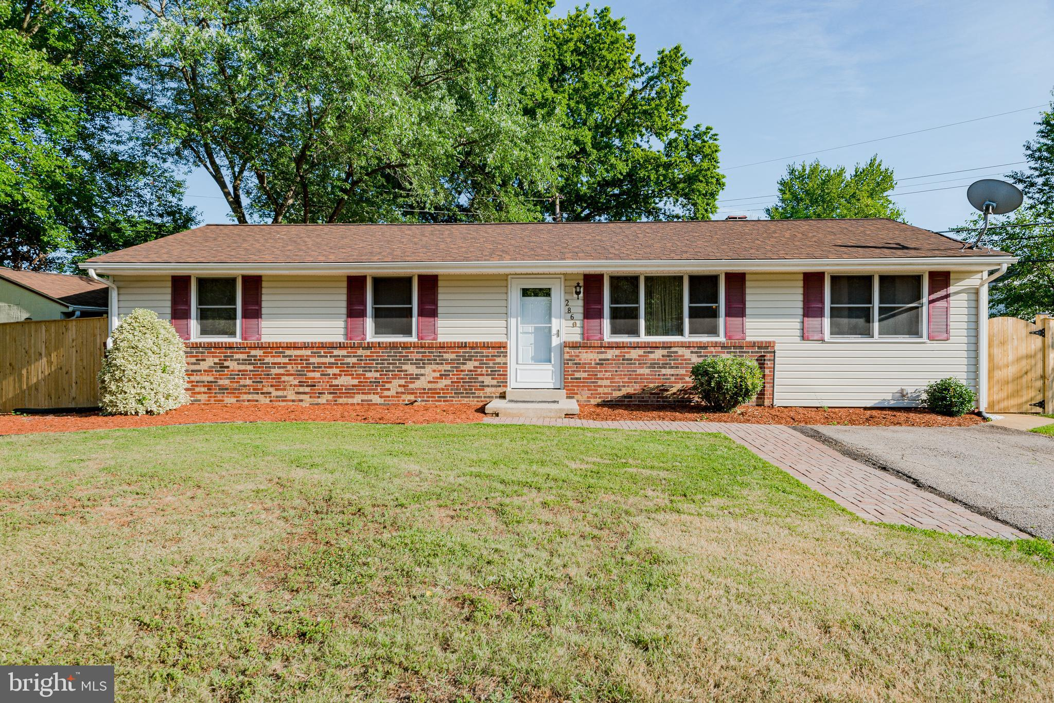 It's back, but not for long. Must see! HOA free! Beautiful 1 level rambler with 3 bedrooms, 1 full b